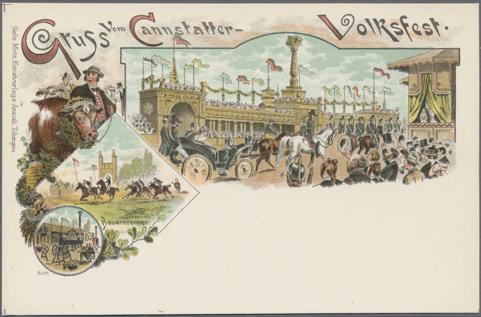 Lot 19531 - Ansichtskarten: Baden-Württemberg  -  Auktionshaus Christoph Gärtner GmbH & Co. KG Sale #46 Single lots Germany - and picture post cards