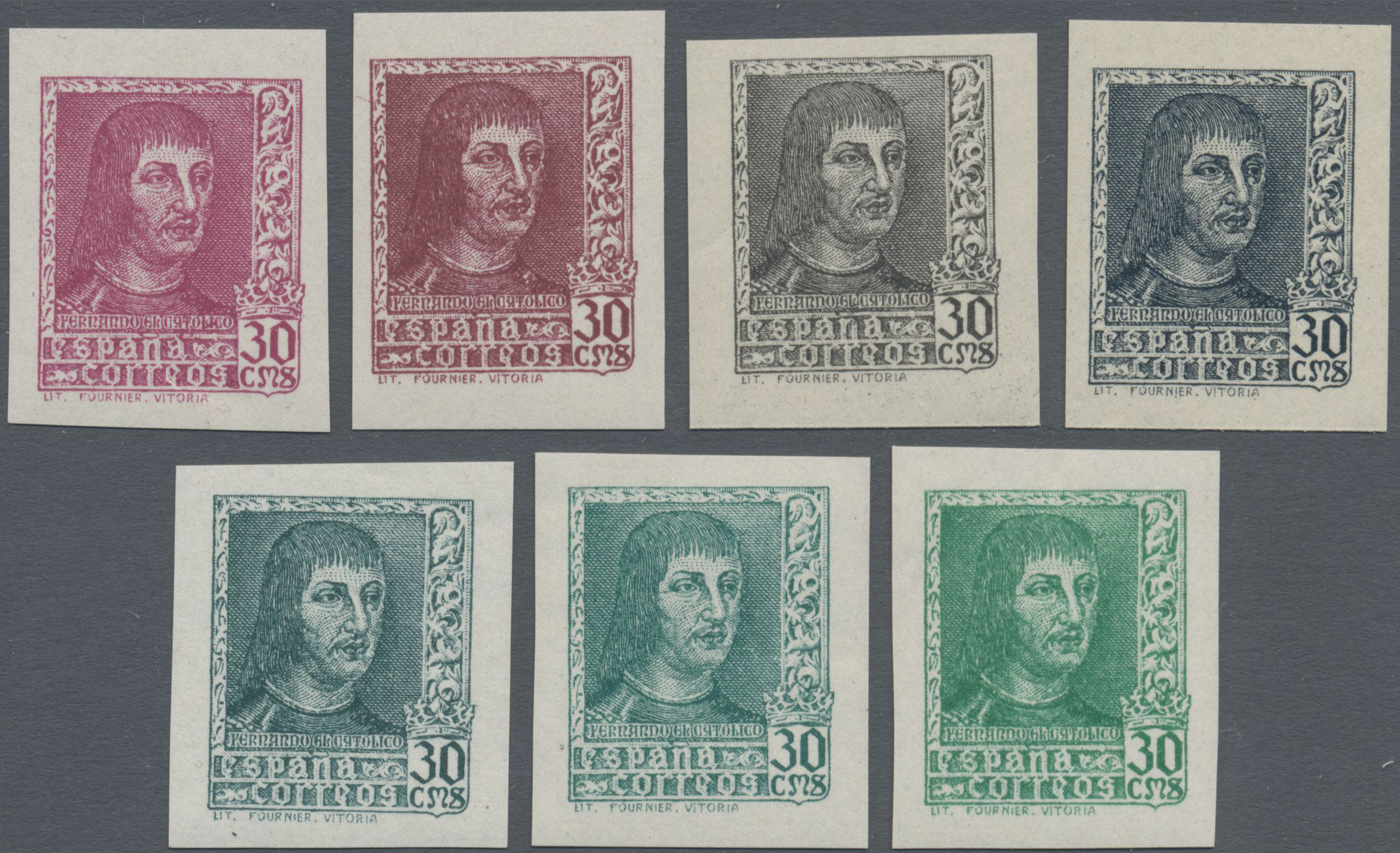 Lot 35065 - spanien  -  Auktionshaus Christoph Gärtner GmbH & Co. KG Sale #44 Collections Germany