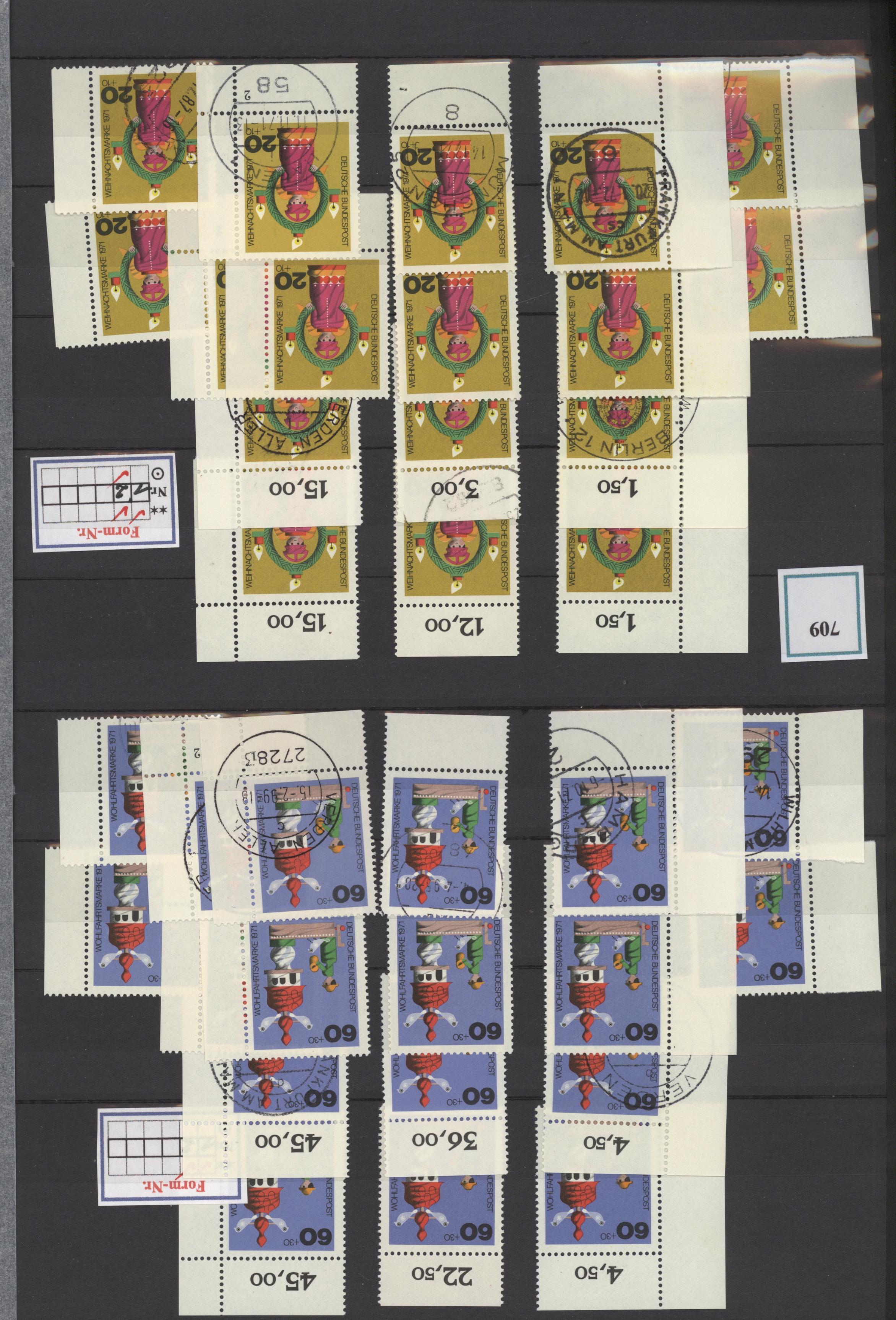 Lot 37655 - bundesrepublik deutschland  -  Auktionshaus Christoph Gärtner GmbH & Co. KG Sale #44 Collections Germany
