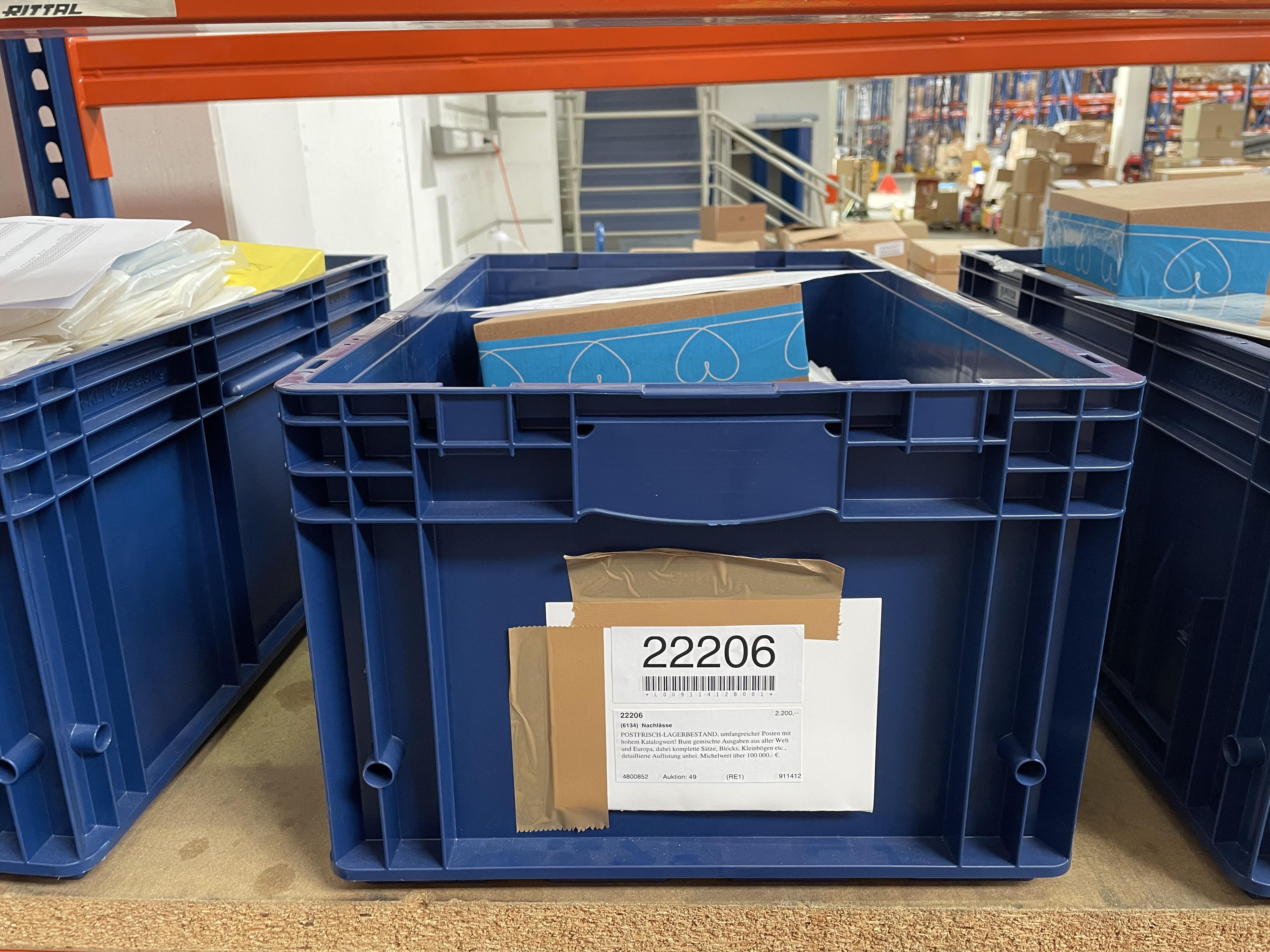Lot 22206 - nachlässe  -  Auktionshaus Christoph Gärtner GmbH & Co. KG Sale #49 Collections Overseas, Thematics, Europe, Germany/Estates