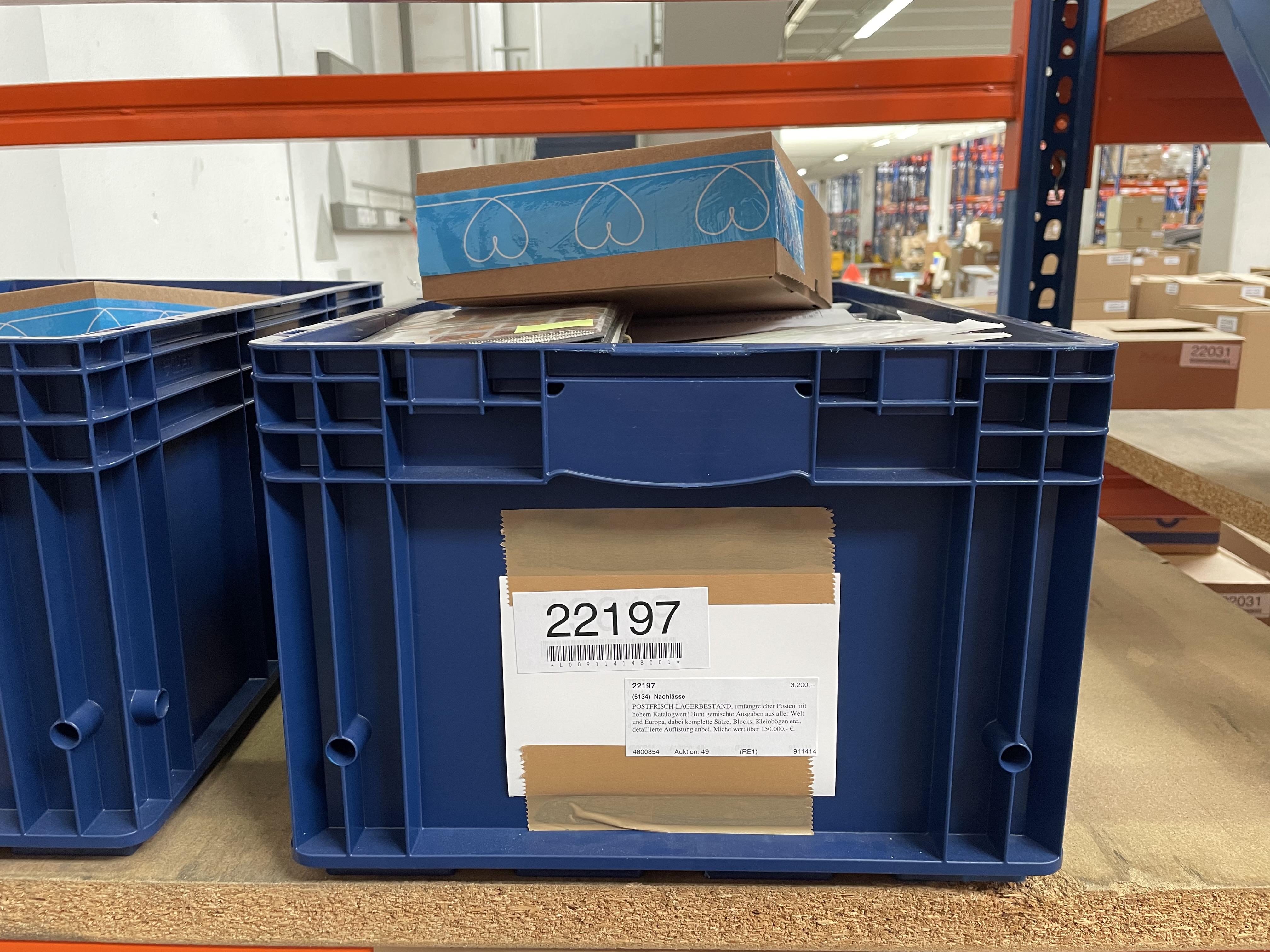 Lot 22197 - nachlässe  -  Auktionshaus Christoph Gärtner GmbH & Co. KG Sale #49 Collections Overseas, Thematics, Europe, Germany/Estates