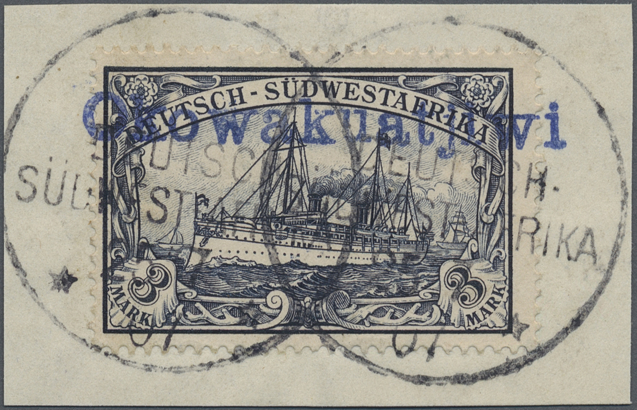 Lot 22329 - deutsch-südwestafrika  -  Auktionshaus Christoph Gärtner GmbH & Co. KG Single lots Germany + Picture Postcards. Auction #39 Day 5
