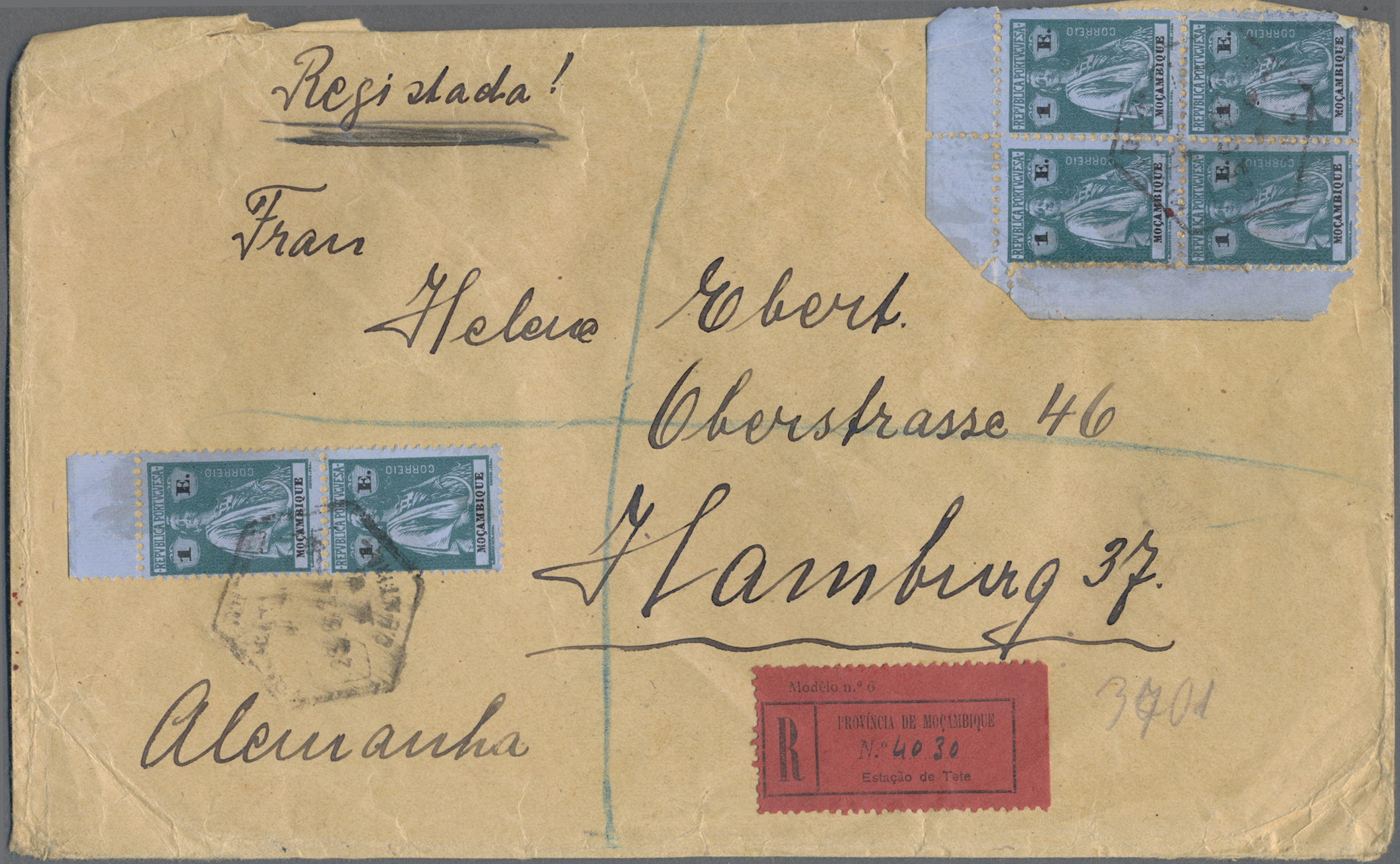 Lot 16826 - mocambique  -  Auktionshaus Christoph Gärtner GmbH & Co. KG 50th Auction Anniversary Auction - Day 5