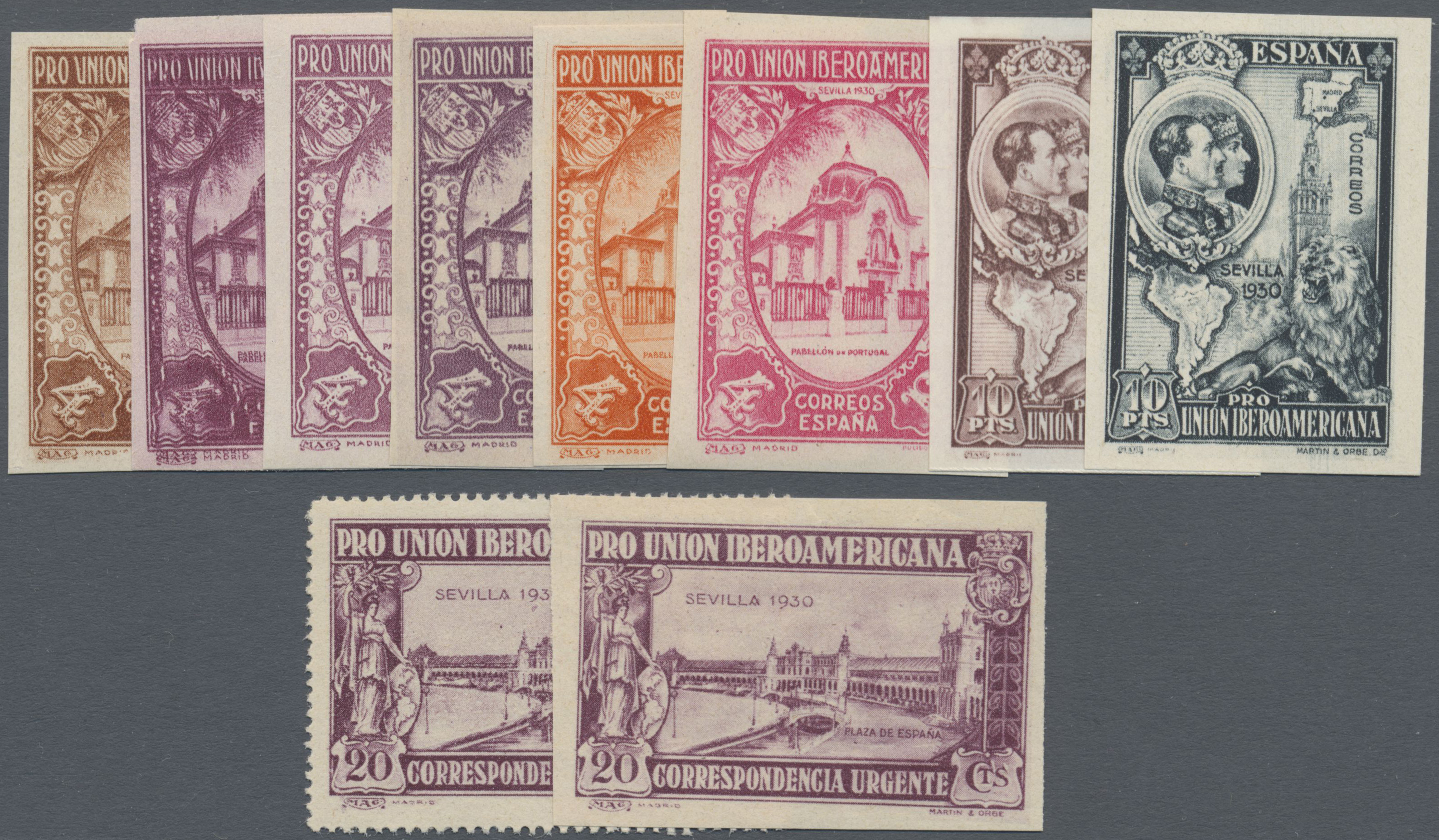Lot 35058 - spanien  -  Auktionshaus Christoph Gärtner GmbH & Co. KG Sale #44 Collections Germany