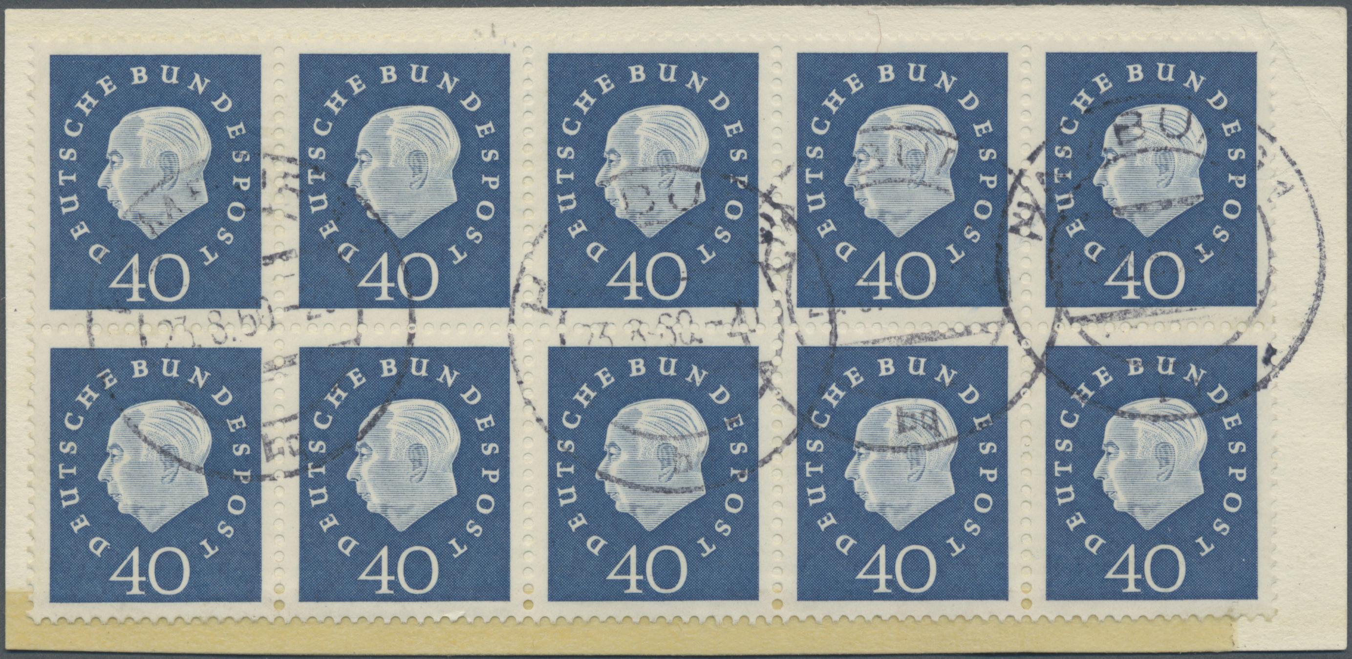 Lot 37626 - bundesrepublik deutschland  -  Auktionshaus Christoph Gärtner GmbH & Co. KG Sale #44 Collections Germany