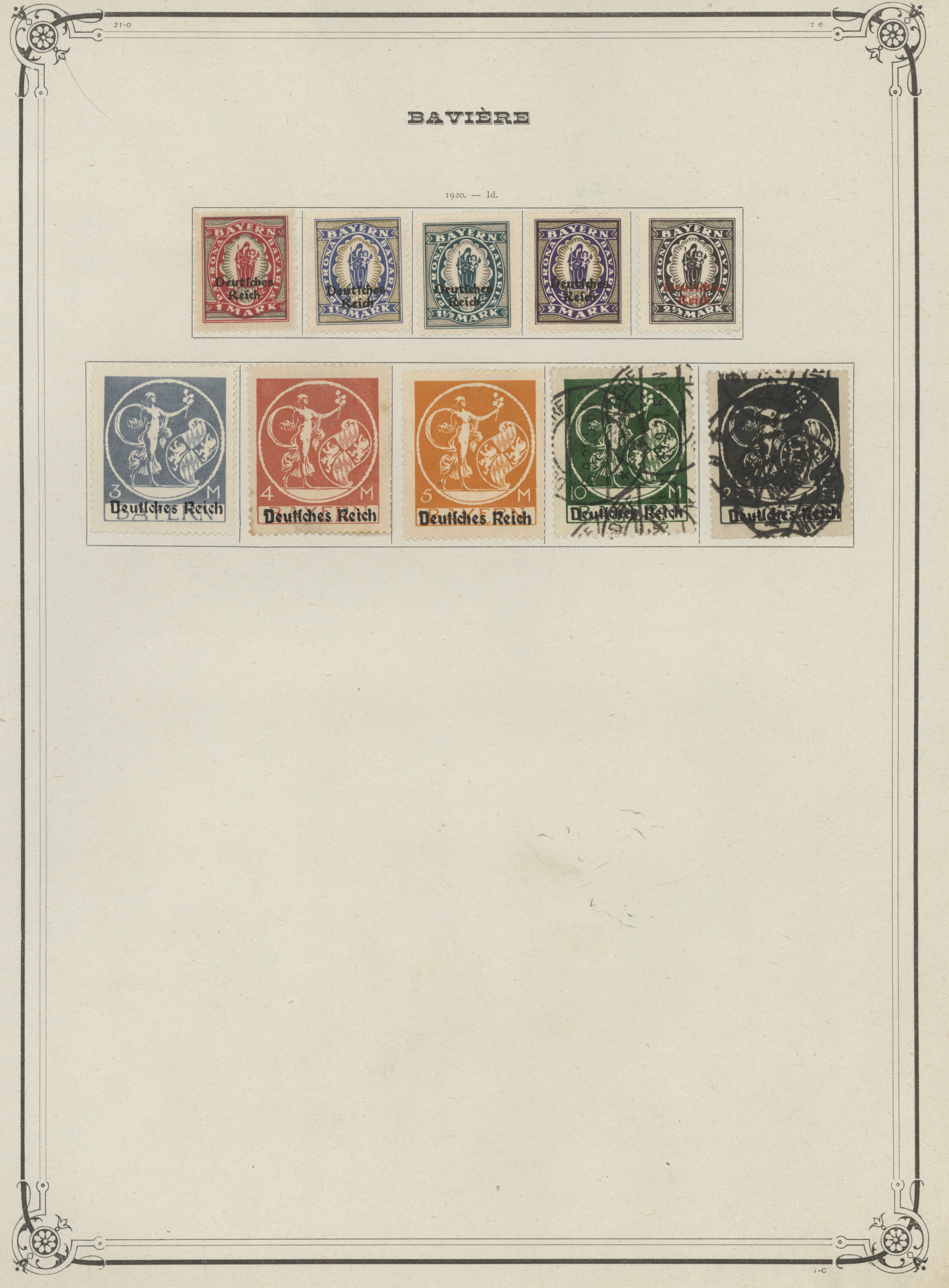 Lot 31193 - Bayern - Marken und Briefe  -  Auktionshaus Christoph Gärtner GmbH & Co. KG Auction #40 Collections Germany, Wunderkartons