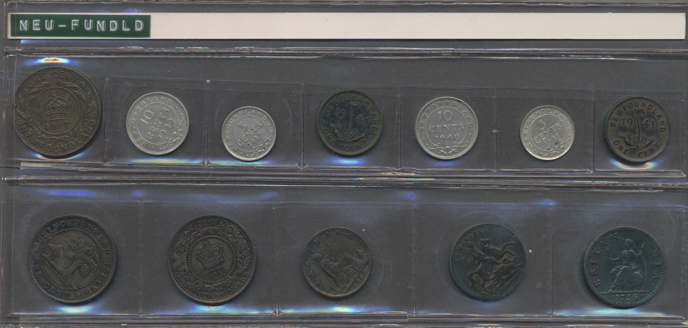 Lot 05068 - Kanada   Übersee  -  Auktionshaus Christoph Gärtner GmbH & Co. KG Sale #45 Banknotes Germany/Numismatics