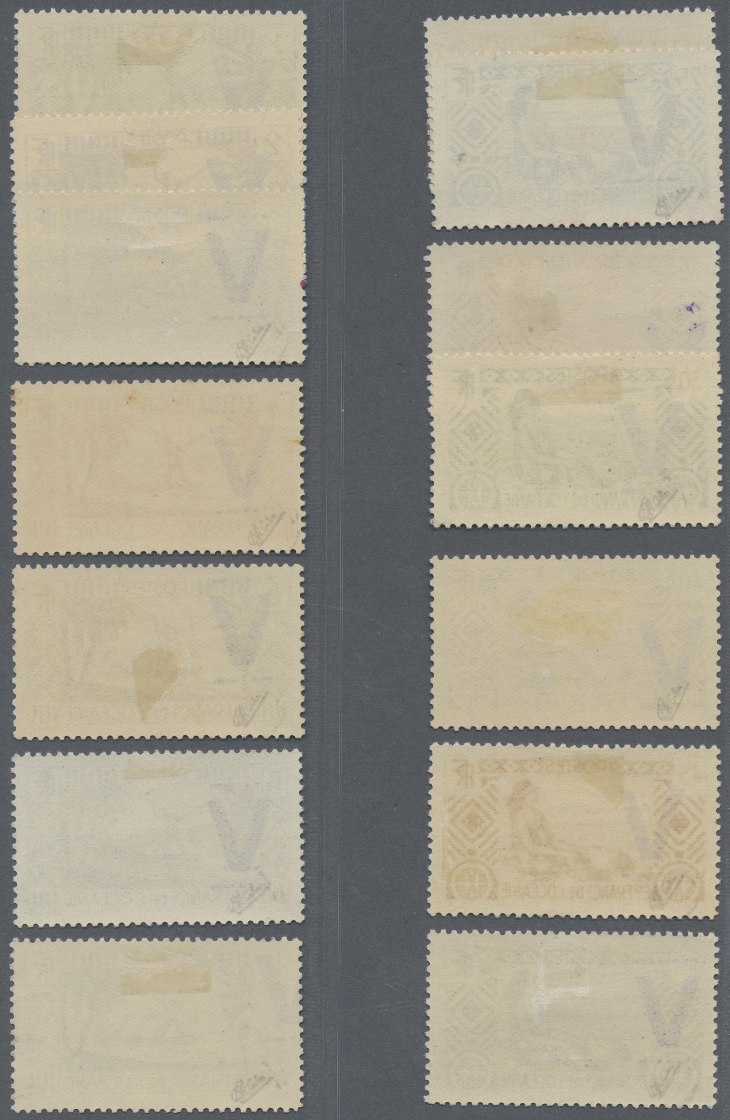 Lot 13751 - französisch-ozeanien  -  Auktionshaus Christoph Gärtner GmbH & Co. KG Single lots Philately Overseas & Europe. Auction #39 Day 4