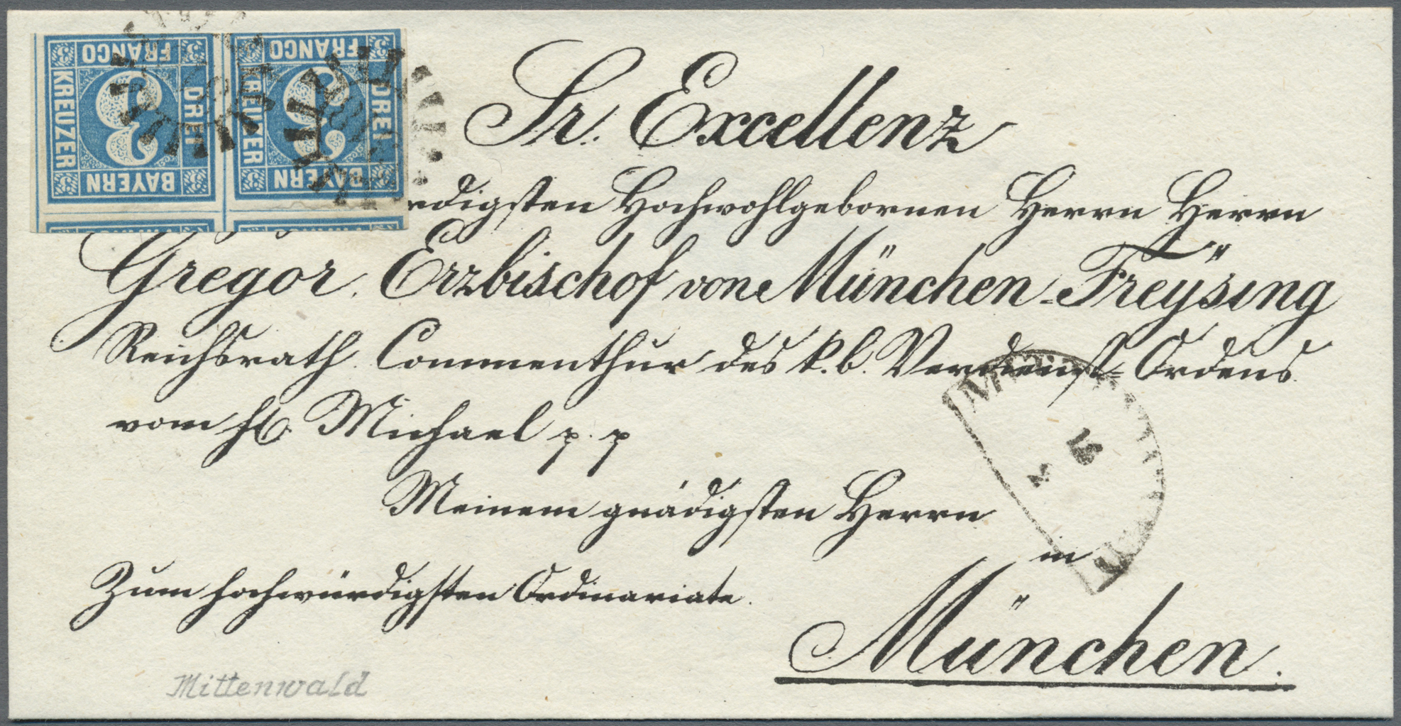 Lot 17076 - Bayern - Marken und Briefe  -  Auktionshaus Christoph Gärtner GmbH & Co. KG Auction #40 Germany, Picture Post Cards, Collections Overseas, Thematics