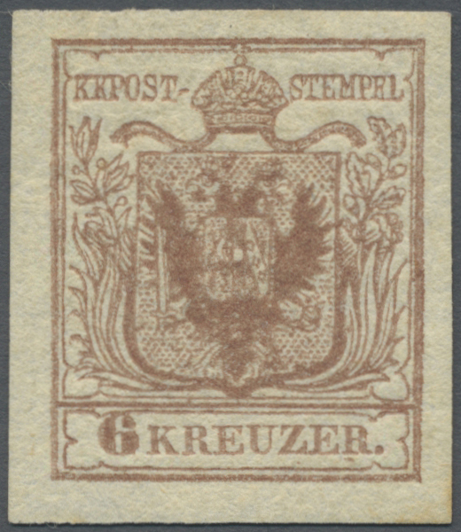 Lot 00012 - österreich  -  Auktionshaus Christoph Gärtner GmbH & Co. KG Intenational Rarities and contains lots from the collection of Peter Zgonc