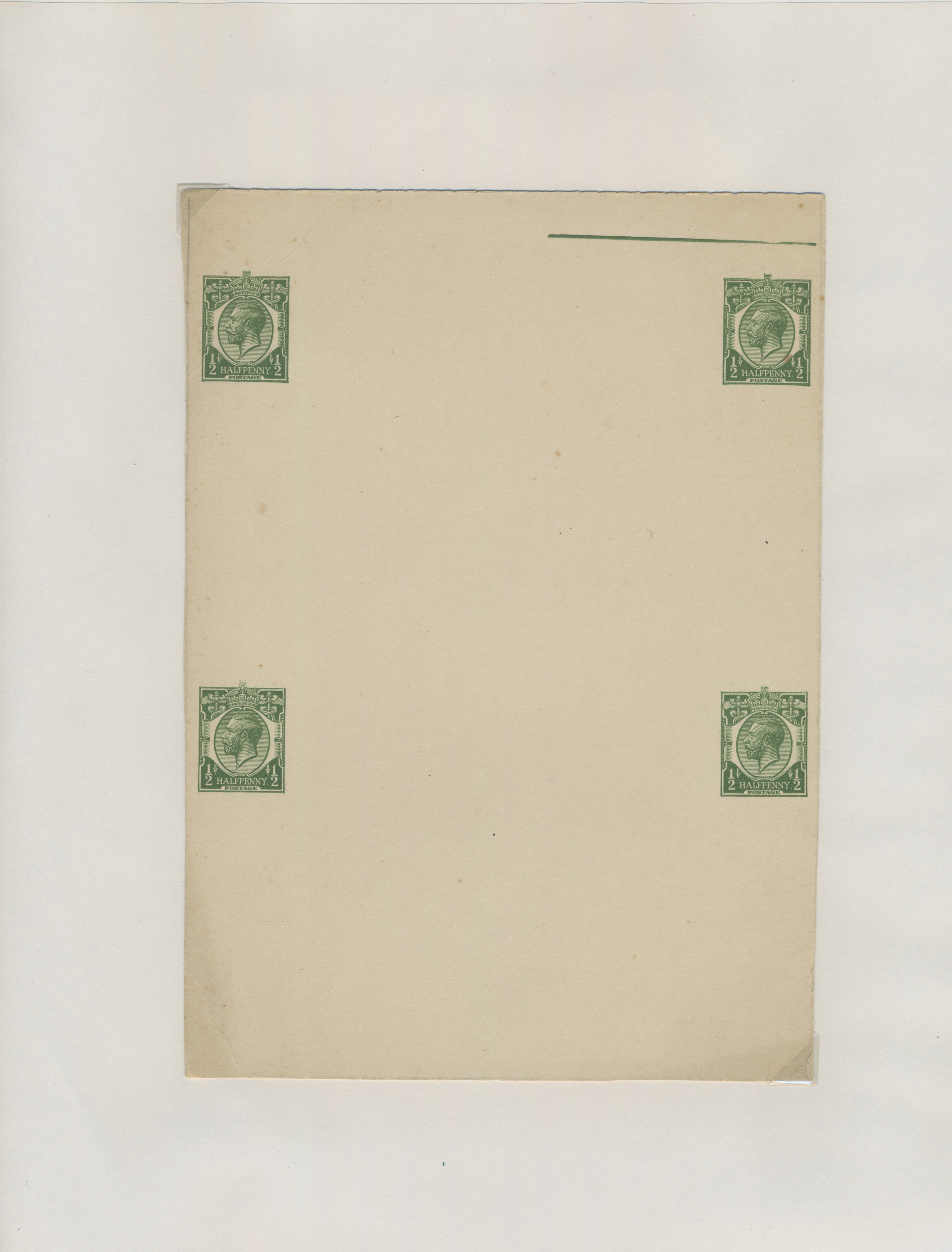Lot 38409 - Großbritannien - Ganzsachen  -  Auktionshaus Christoph Gärtner GmbH & Co. KG Sale #43 Collection Peter Zgonc - German Occupations WWII   Day 7