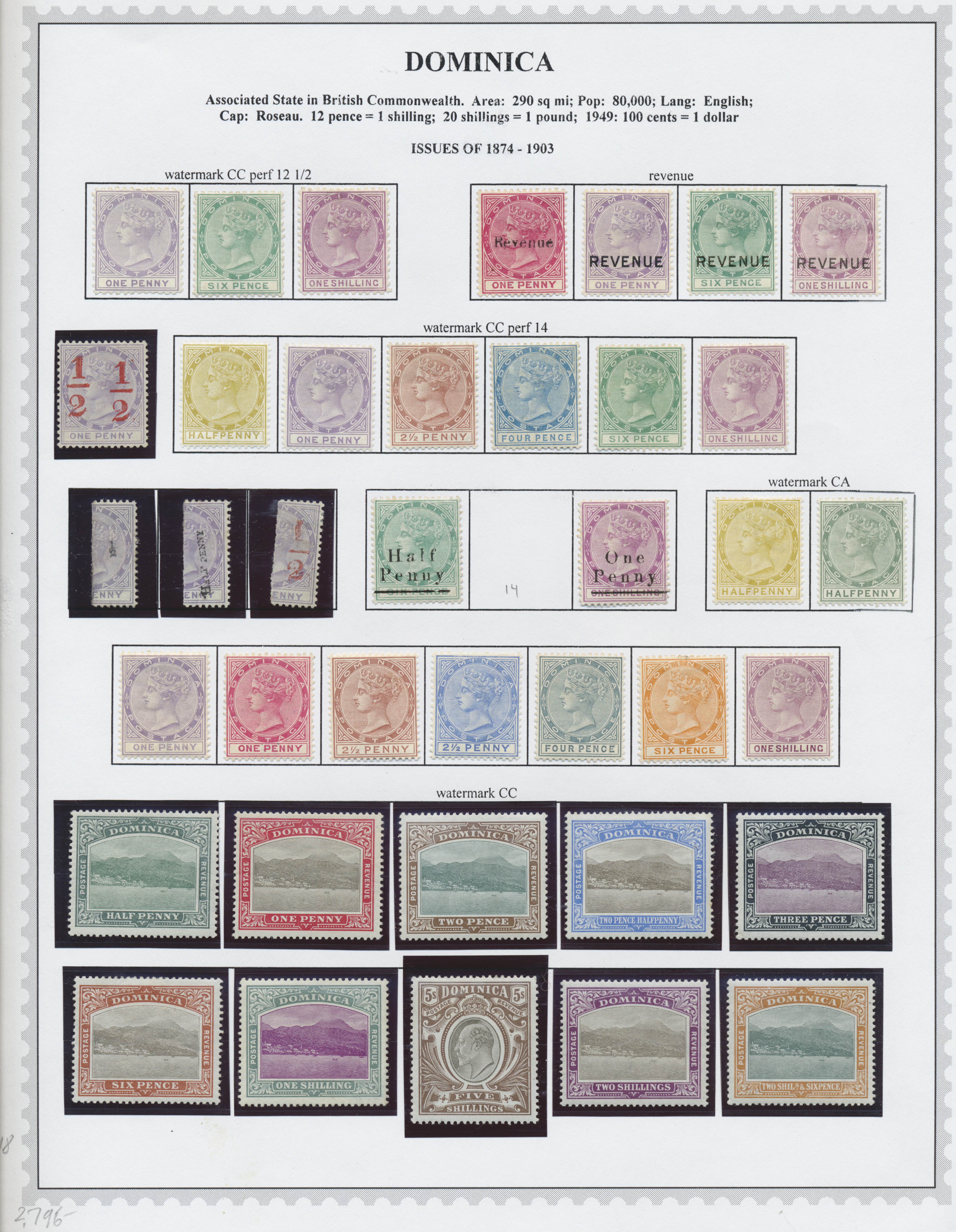 Lot 34492 - dominica  -  Auktionshaus Christoph Gärtner GmbH & Co. KG Collections Germany,  Collections Supplement, Surprise boxes #39 Day 7