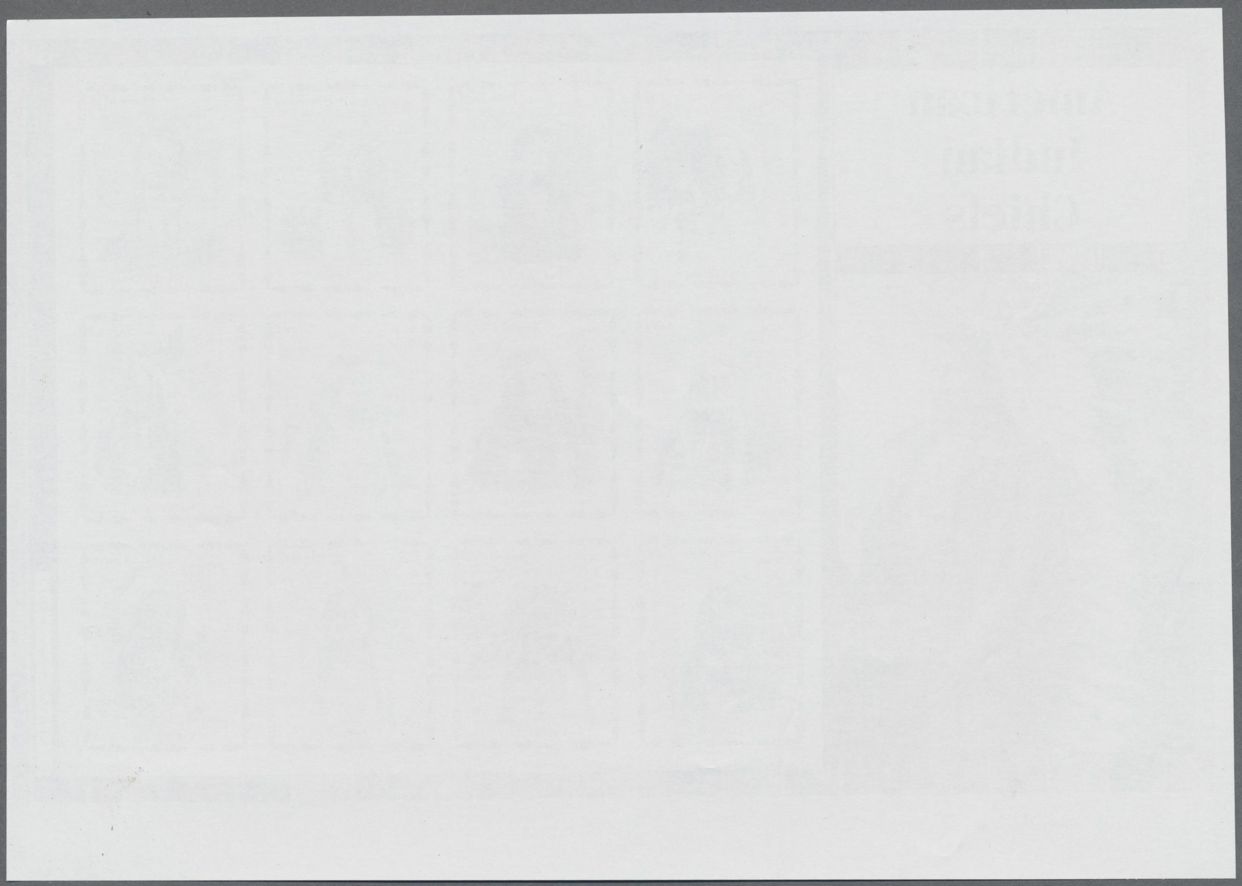 Lot 09701 - Grenada  -  Auktionshaus Christoph Gärtner GmbH & Co. KG Sale #46 Single lots Asia, Thematics, Overseas, Europe …