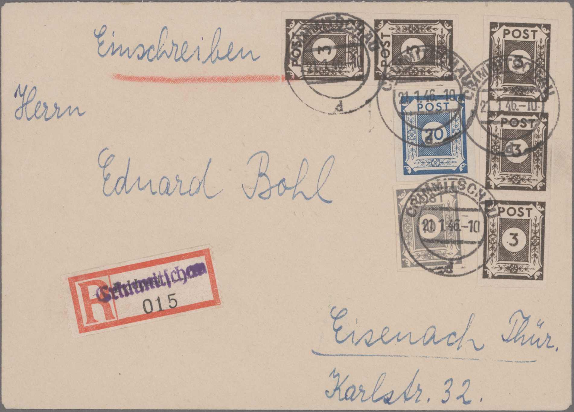 Lot 13012 - nachlässe  -  Auktionshaus Christoph Gärtner GmbH & Co. KG 51th Auction - Day 5