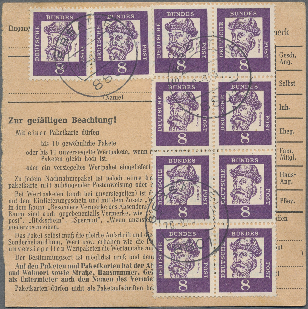 Lot 33600 - bundesrepublik deutschland  -  Auktionshaus Christoph Gärtner GmbH & Co. KG Sale #45- Collections Germany
