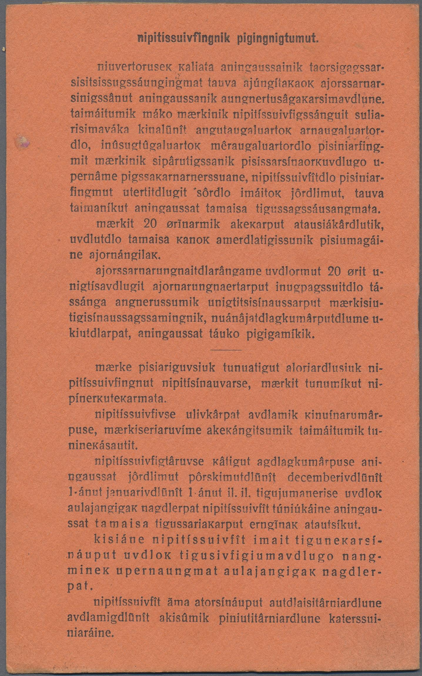 brev från kolonien original text