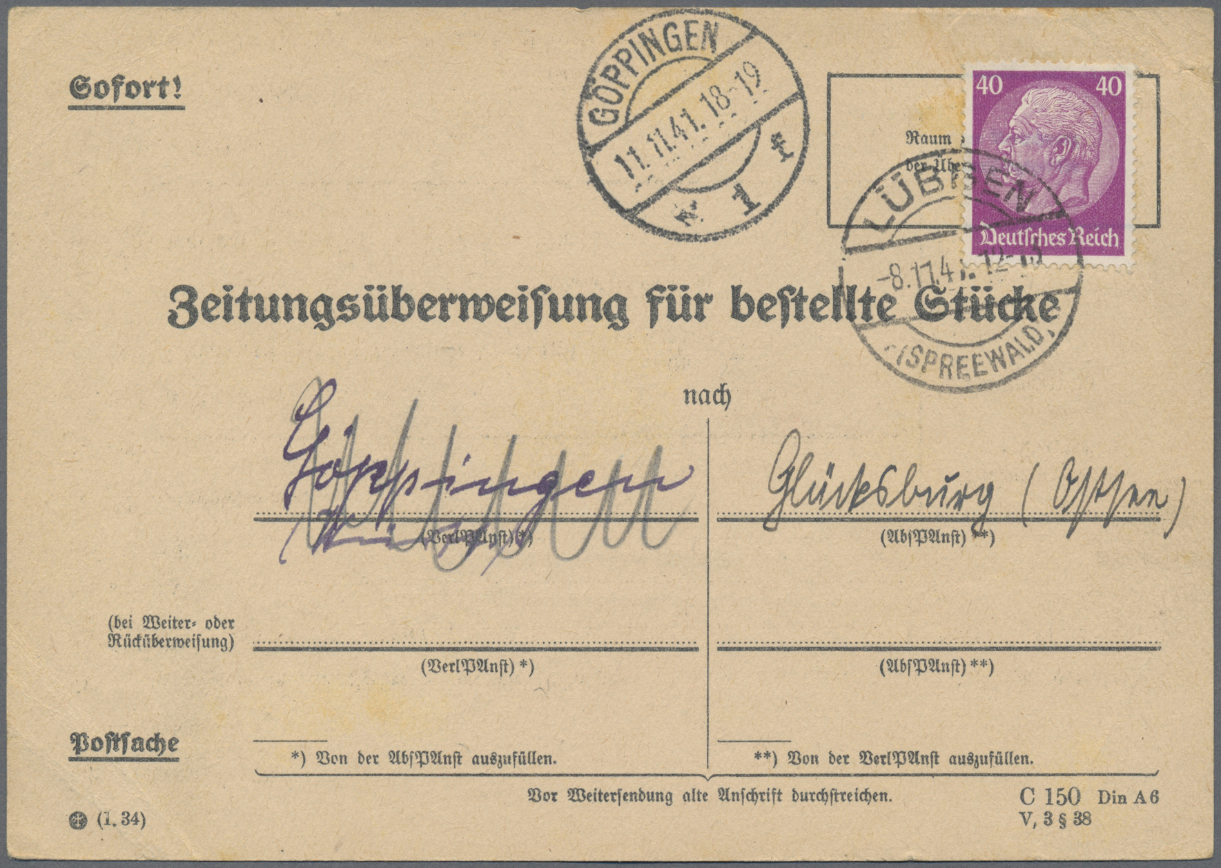 Lot 28551 - Deutsches Reich - 3. Reich  -  Auktionshaus Christoph Gärtner GmbH & Co. KG Sale #46 Gollcetions Germany - including the suplement
