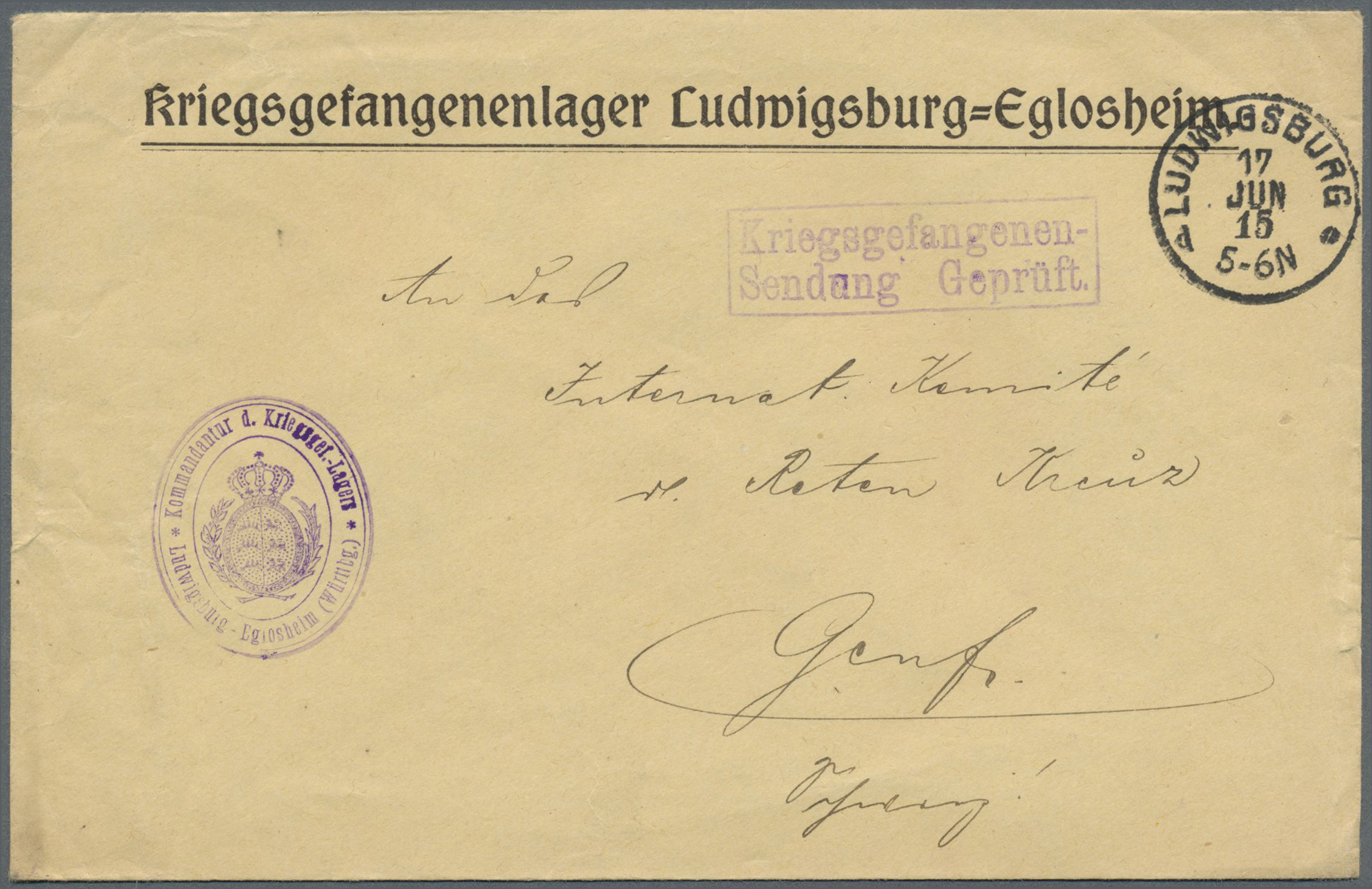 Lot 37633 - kriegsgefangenen-lagerpost  -  Auktionshaus Christoph Gärtner GmbH & Co. KG Collections Germany,  Collections Supplement, Surprise boxes #39 Day 7