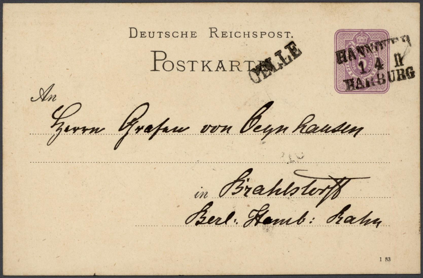 Lot 36084 - Altdeutschland - Vorphila  -  Auktionshaus Christoph Gärtner GmbH & Co. KG Sale #44 Collections Germany