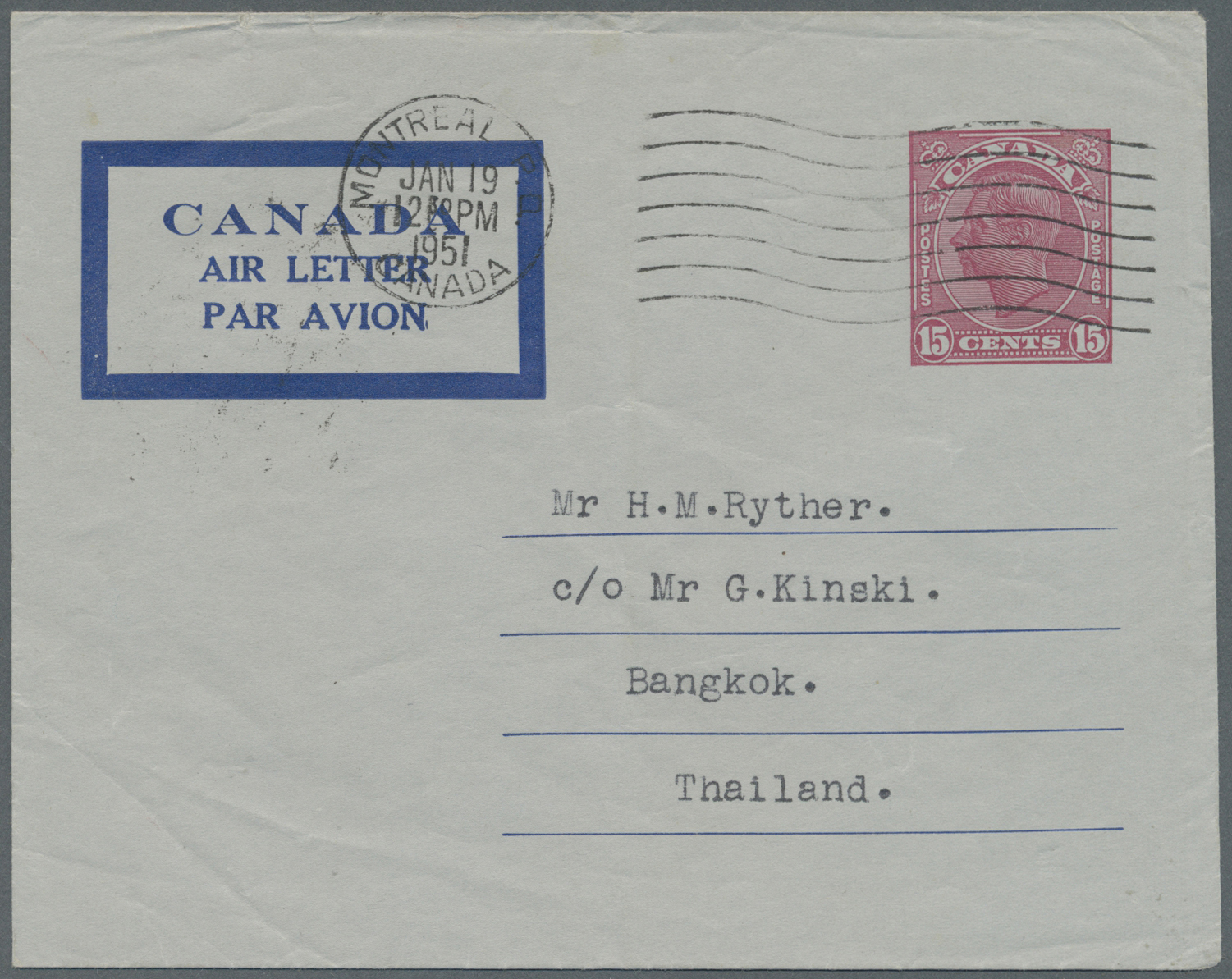 Lot 218 - Canada - Ganzsachen  -  Auktionshaus Christoph Gärtner GmbH & Co. KG Special Auction 26.- 28. May 2020 Day 1 Collections Part 1