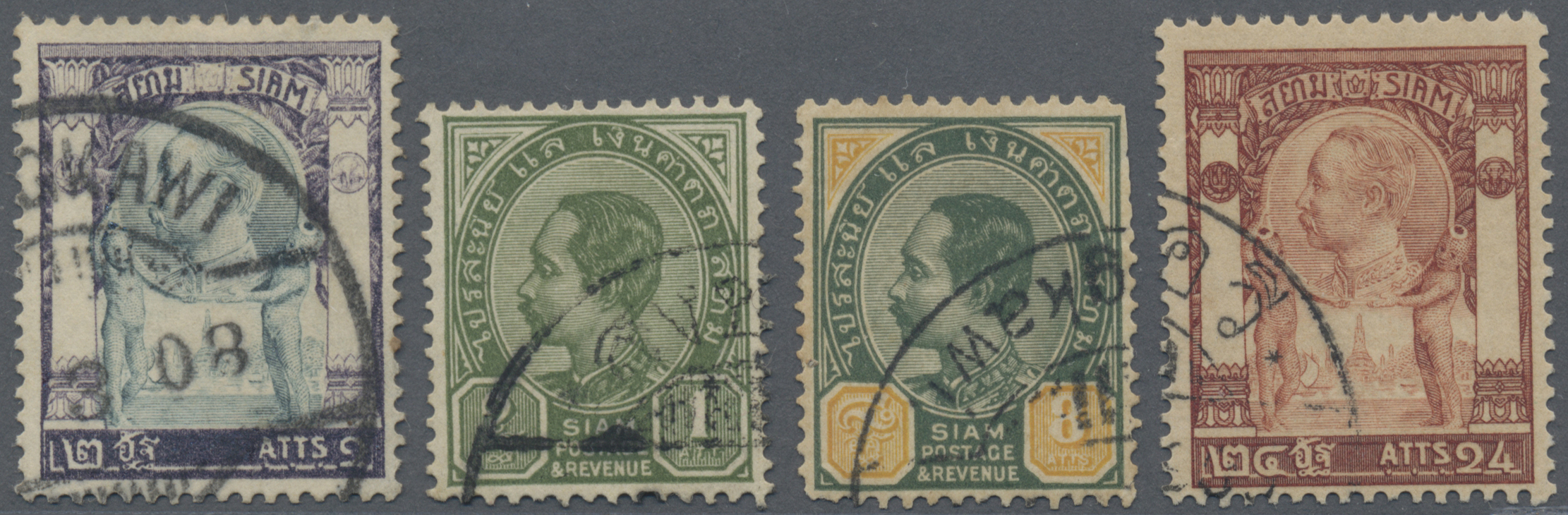 Lot 9070 - Malaiische Staaten - Kedah  -  Auktionshaus Christoph Gärtner GmbH & Co. KG Philately: ASIA single lots including Special Catalog Malaya Auction #39 Day 3