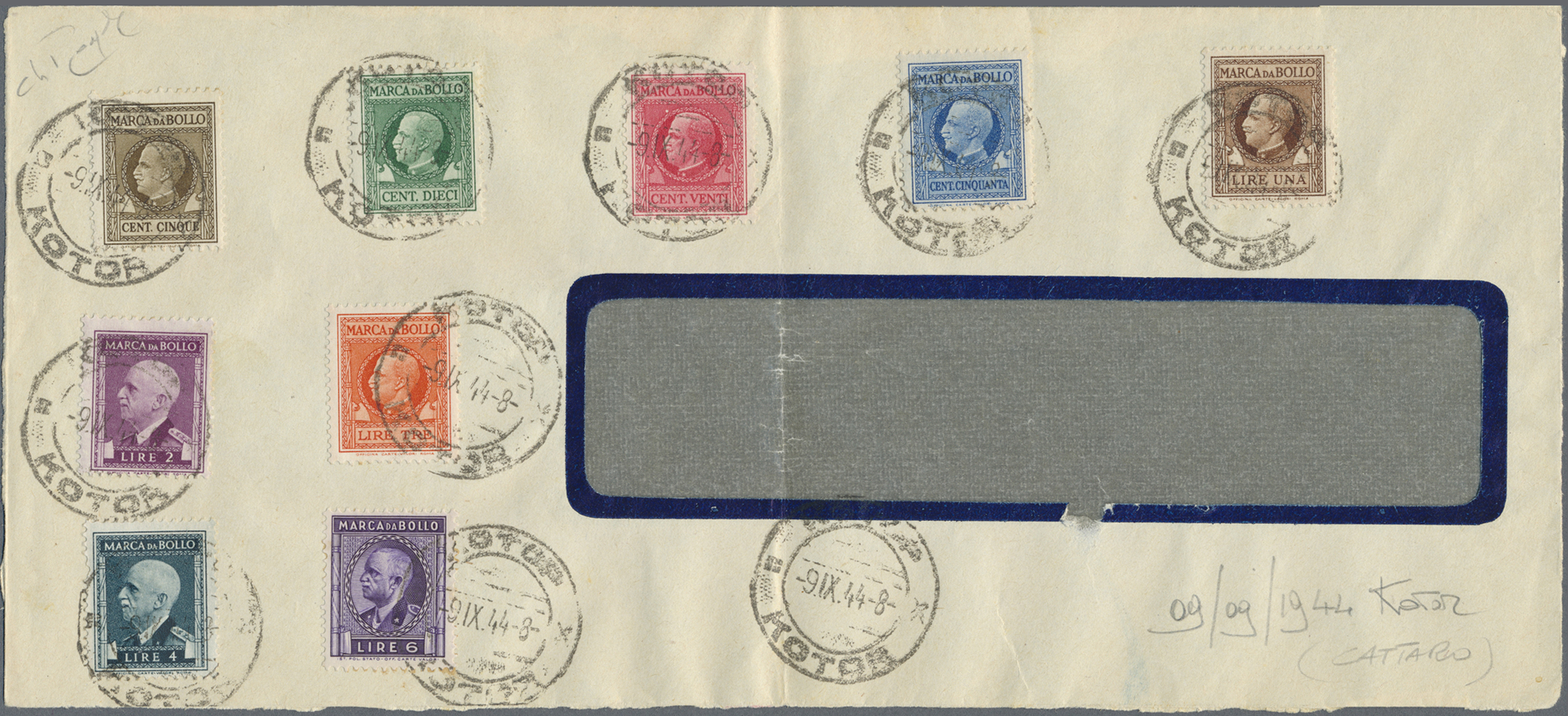 Lot 17126 - Italien - Verrechnungsmarken  -  Auktionshaus Christoph Gärtner GmbH & Co. KG Single lots Philately Overseas & Europe. Auction #39 Day 4