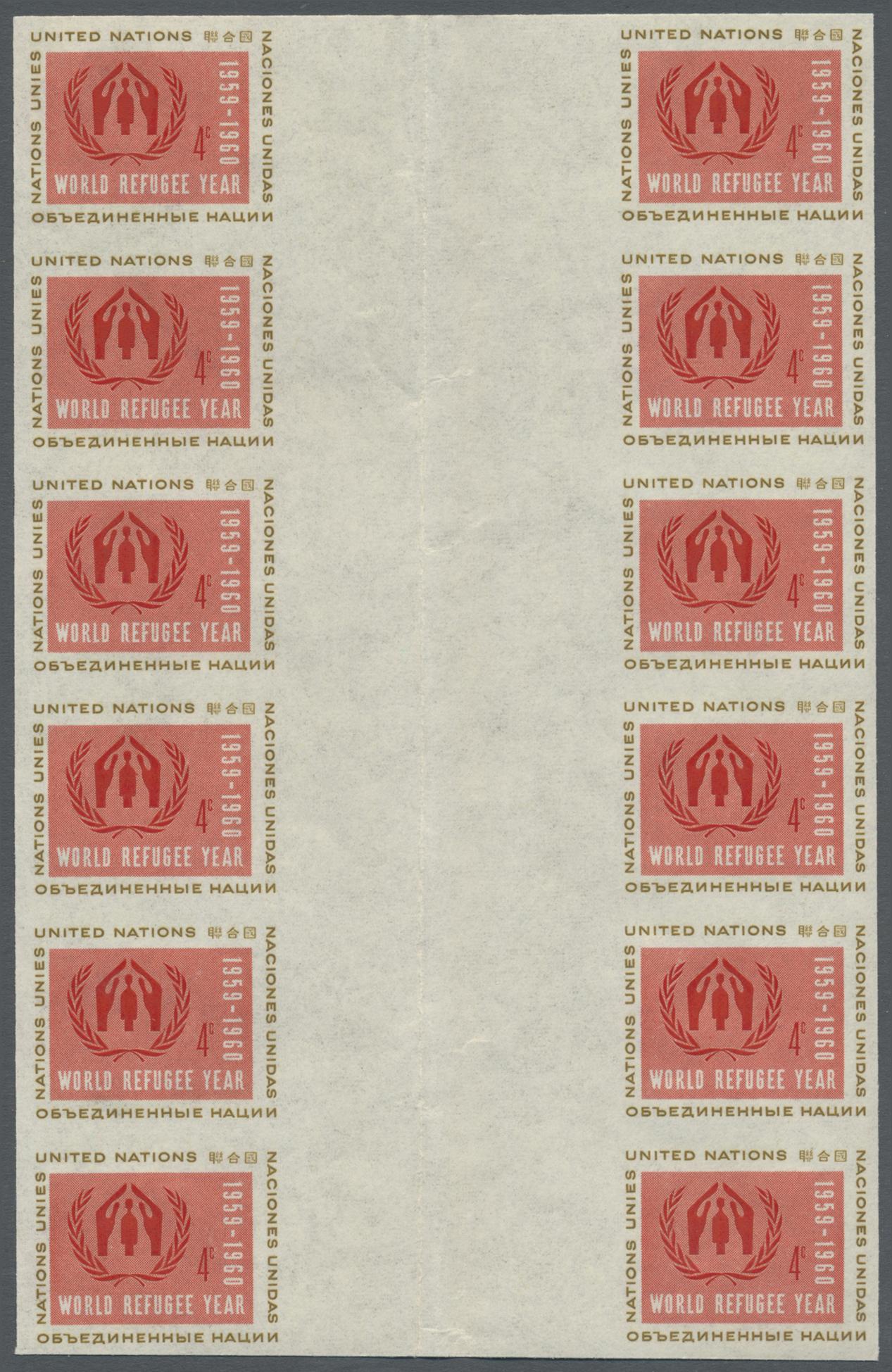 Lot 14795 - Vereinte Nationen - New York  -  Auktionshaus Christoph Gärtner GmbH & Co. KG Single lots Philately Overseas & Europe. Auction #39 Day 4