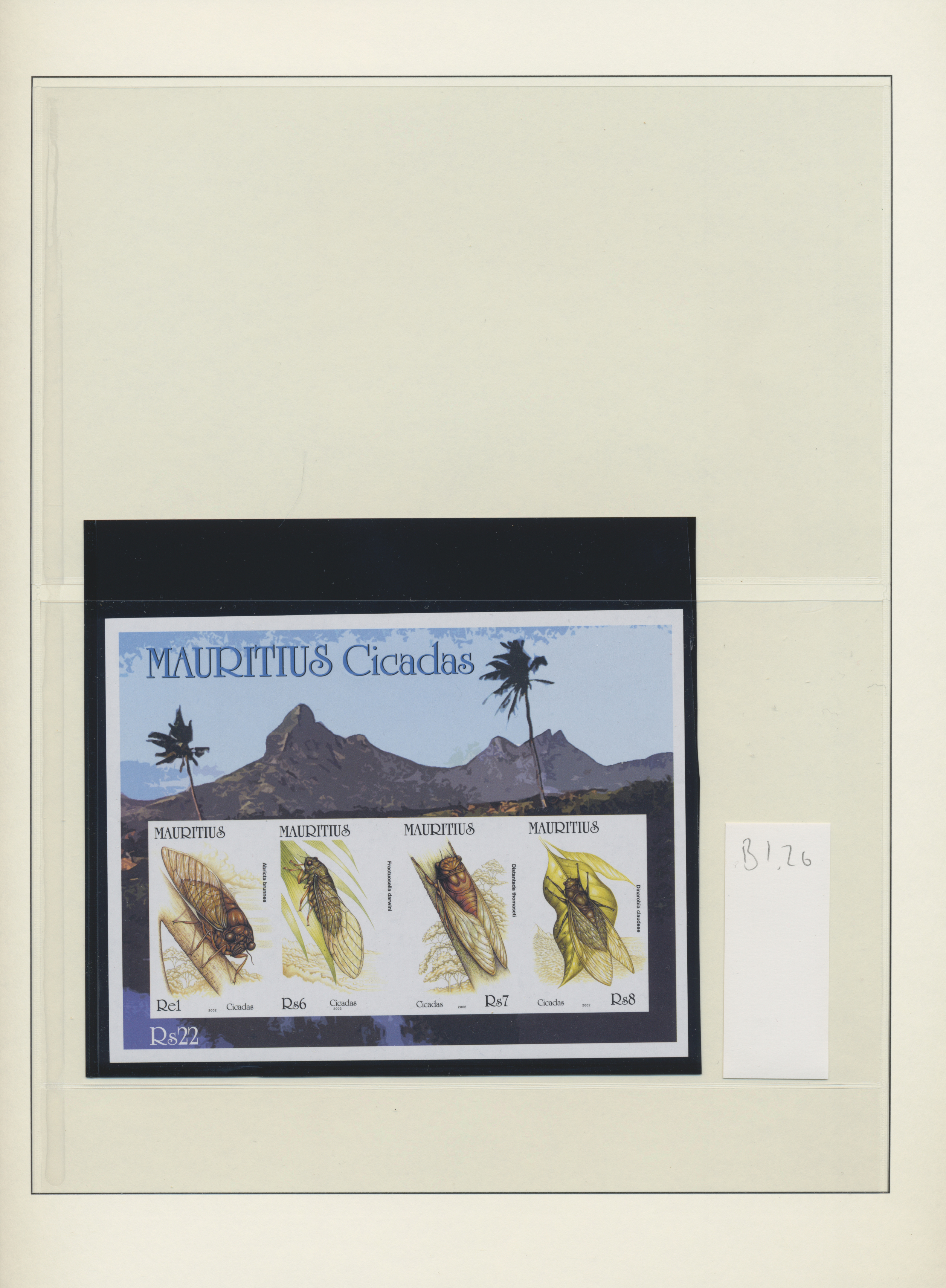 Lot 21481 - Mauritius  -  Auktionshaus Christoph Gärtner GmbH & Co. KG Sale #46 Collections Worldwide