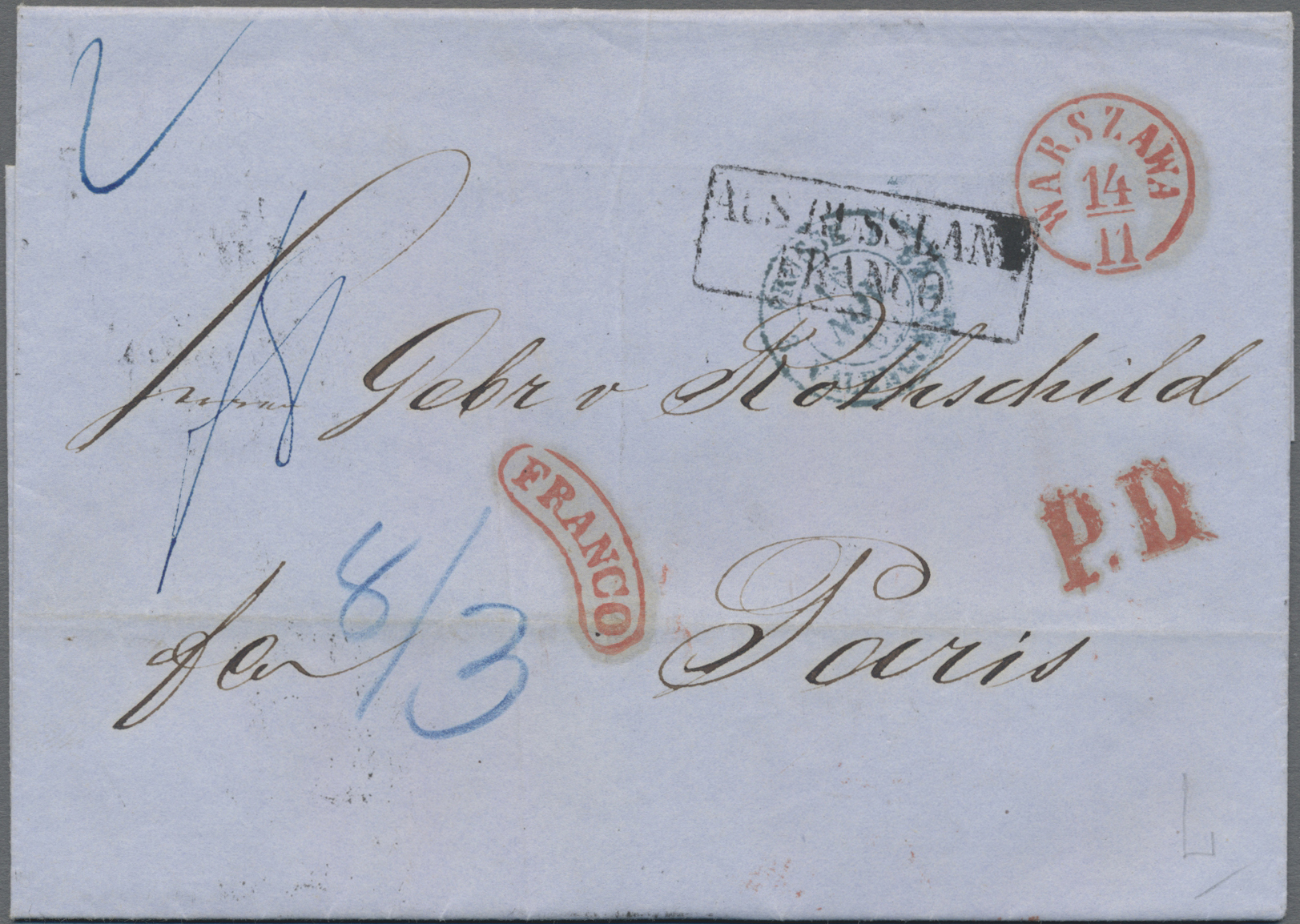 Lot 09500 - Polen - Russische Periode  -  Auktionshaus Christoph Gärtner GmbH & Co. KG 50th Auction Anniversary Auction - Day 3