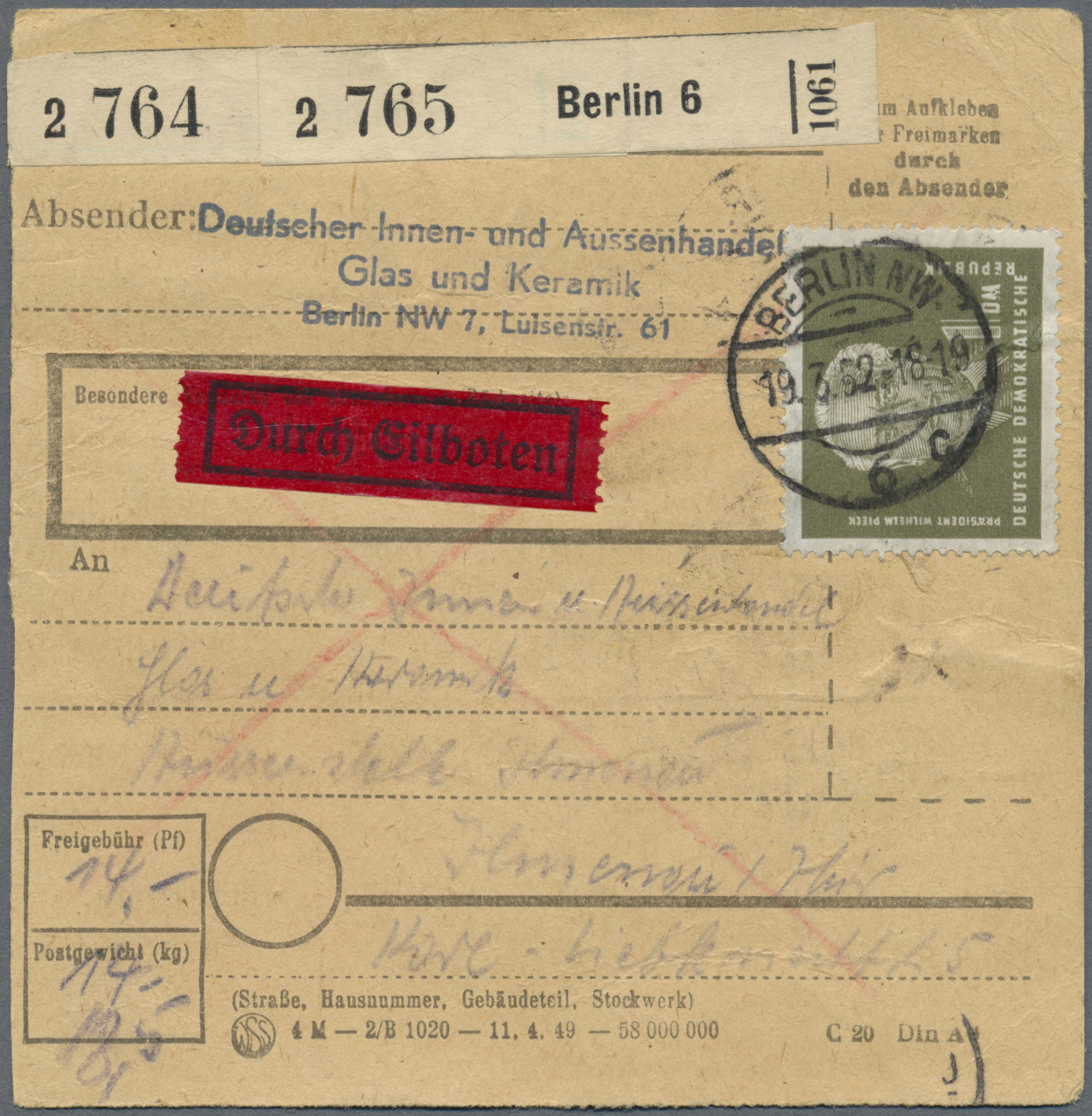 Lot 20187 - ddr  -  Auktionshaus Christoph Gärtner GmbH & Co. KG Auction #40 Germany, Picture Post Cards, Collections Overseas, Thematics