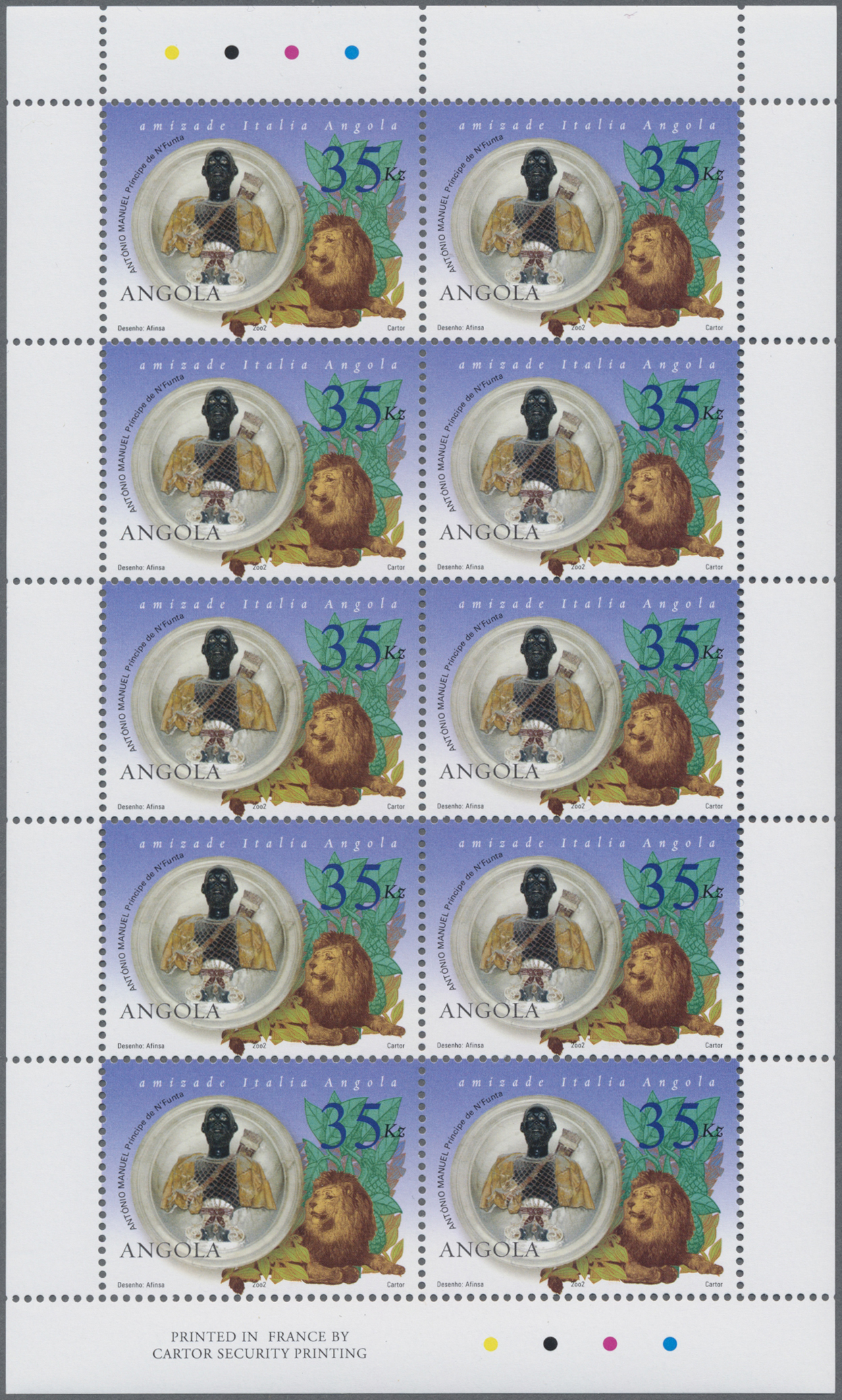 Lot 12853 - angola  -  Auktionshaus Christoph Gärtner GmbH & Co. KG Sale #48 collections Overseas  Airmail / Ship mail & Thematics