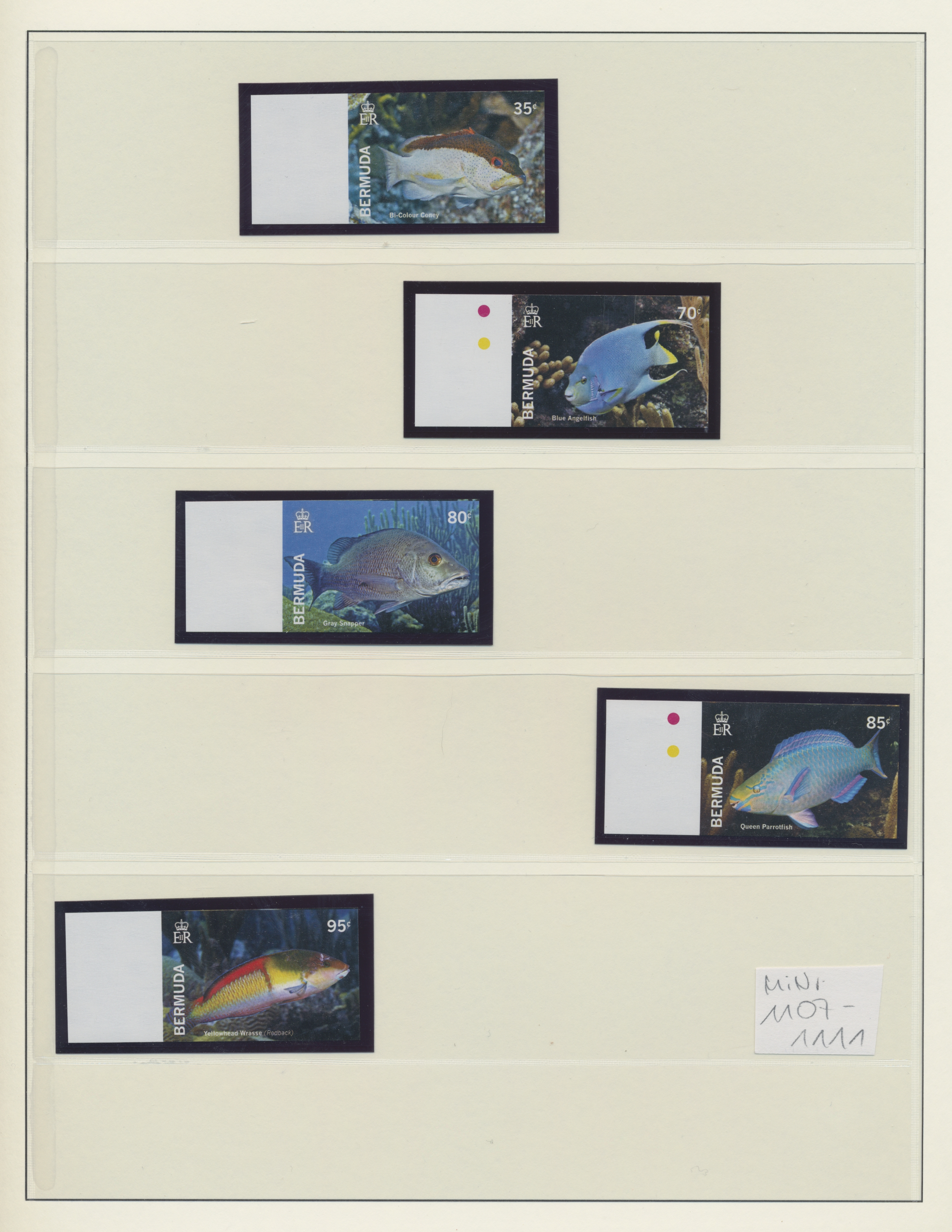 Stamp Auction - bermuda-inseln - Sale #44 Collections Overseas