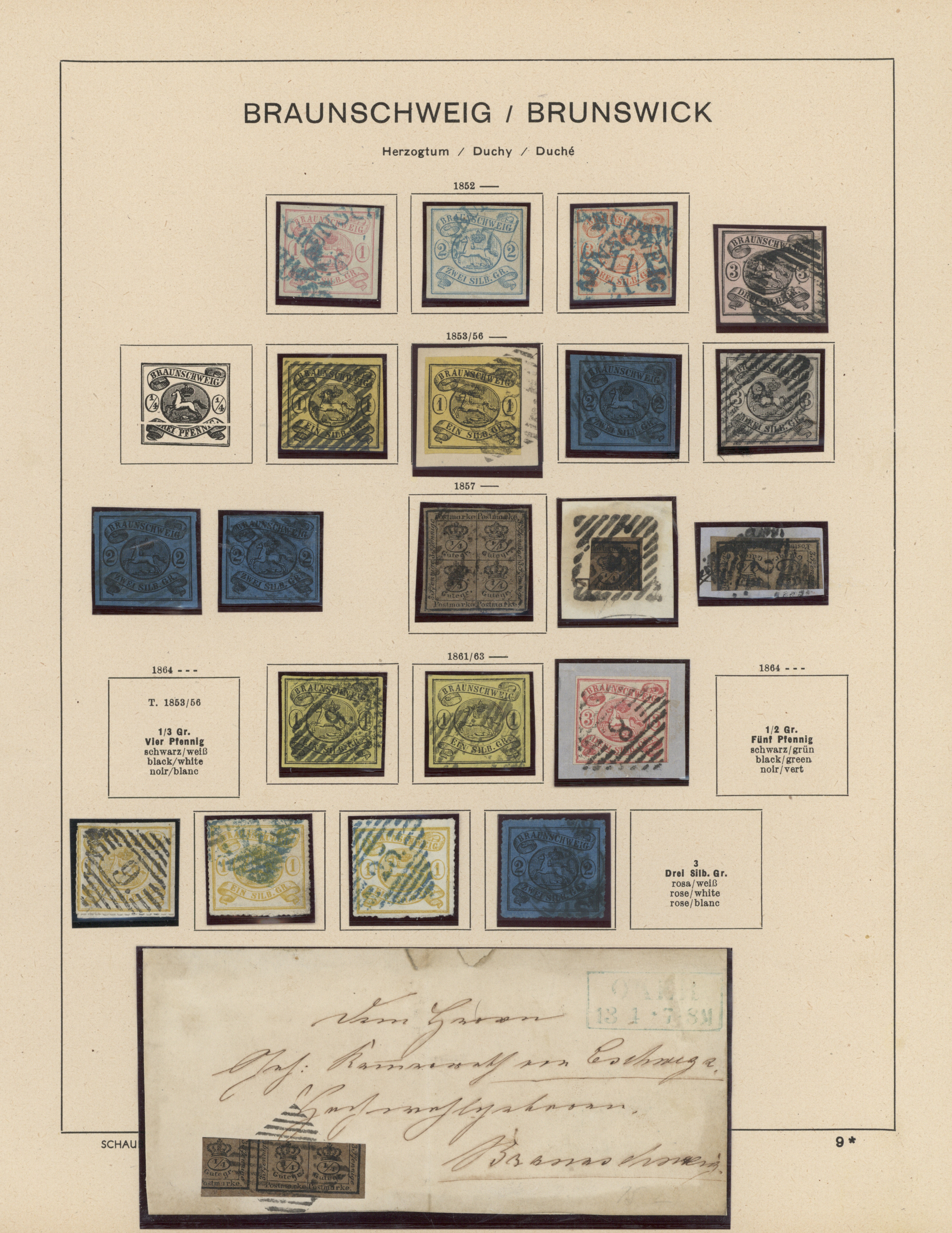 Lot 36343 - Braunschweig - Marken und Briefe  -  Auktionshaus Christoph Gärtner GmbH & Co. KG Collections Germany,  Collections Supplement, Surprise boxes #39 Day 7
