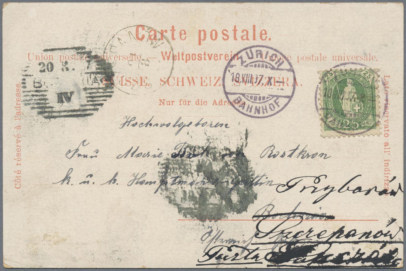 Stamp Auction Schweiz Auction 40 Europe Lot 28011