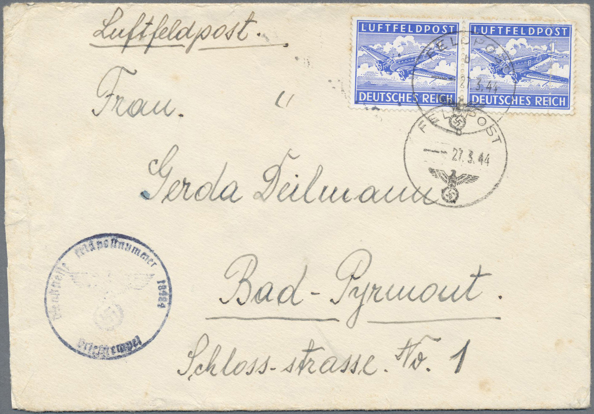 Lot 32049 - feldpost 2. weltkrieg  -  Auktionshaus Christoph Gärtner GmbH & Co. KG Auction #40 Collections Germany, Wunderkartons