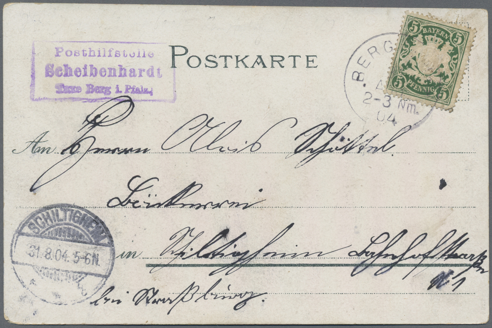 Lot 36221 - Bayern - Postablagestempel  -  Auktionshaus Christoph Gärtner GmbH & Co. KG Sale #44 Collections Germany
