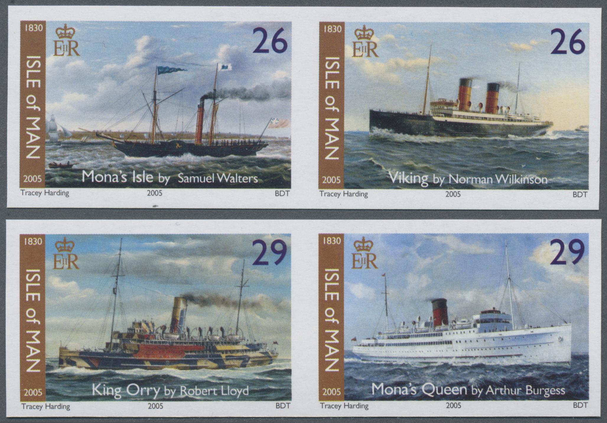 Lot 08667 - Großbritannien - Isle of Man  -  Auktionshaus Christoph Gärtner GmbH & Co. KG Sale #48 The Single Lots Philatelie
