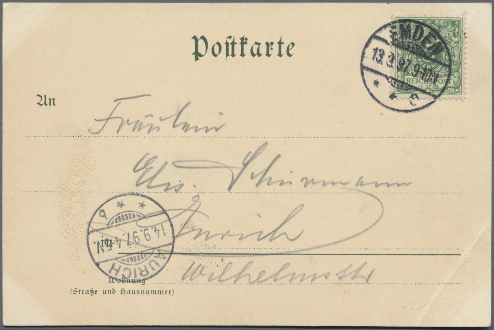 Lot 18418 - Ansichtskarten: Baden-Württemberg  -  Auktionshaus Christoph Gärtner GmbH & Co. KG Sale #46 Single lots Germany - and picture post cards