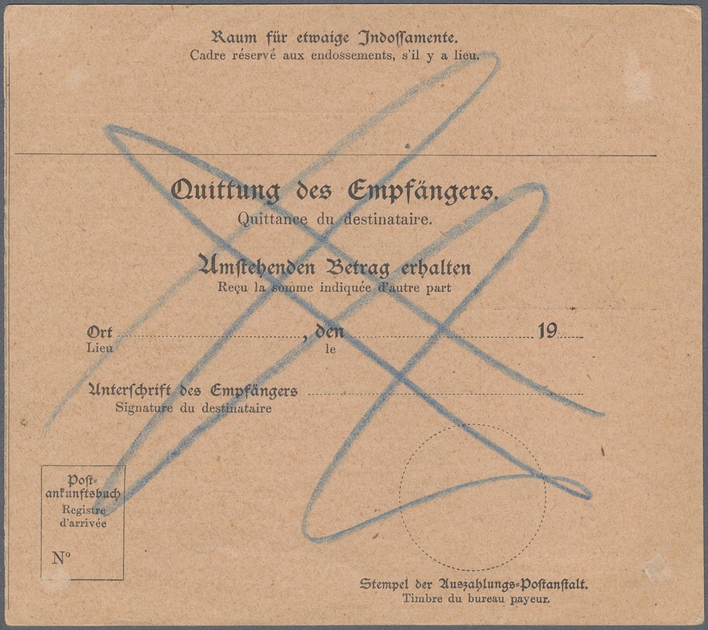Lot 22334 - deutsch-südwestafrika  -  Auktionshaus Christoph Gärtner GmbH & Co. KG Single lots Germany + Picture Postcards. Auction #39 Day 5
