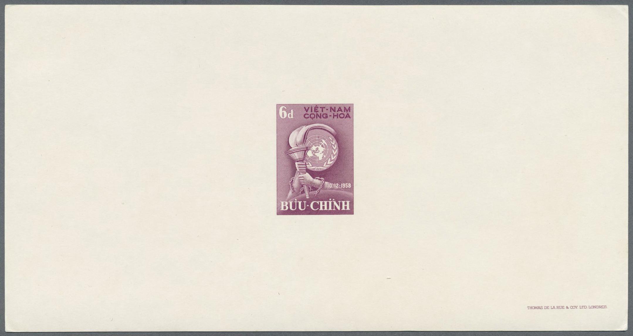 Lot 8242 - Vietnam - Besonderheiten  -  Auktionshaus Christoph Gärtner GmbH & Co. KG Philately: ASIA single lots including Special Catalog Malaya Auction #39 Day 3
