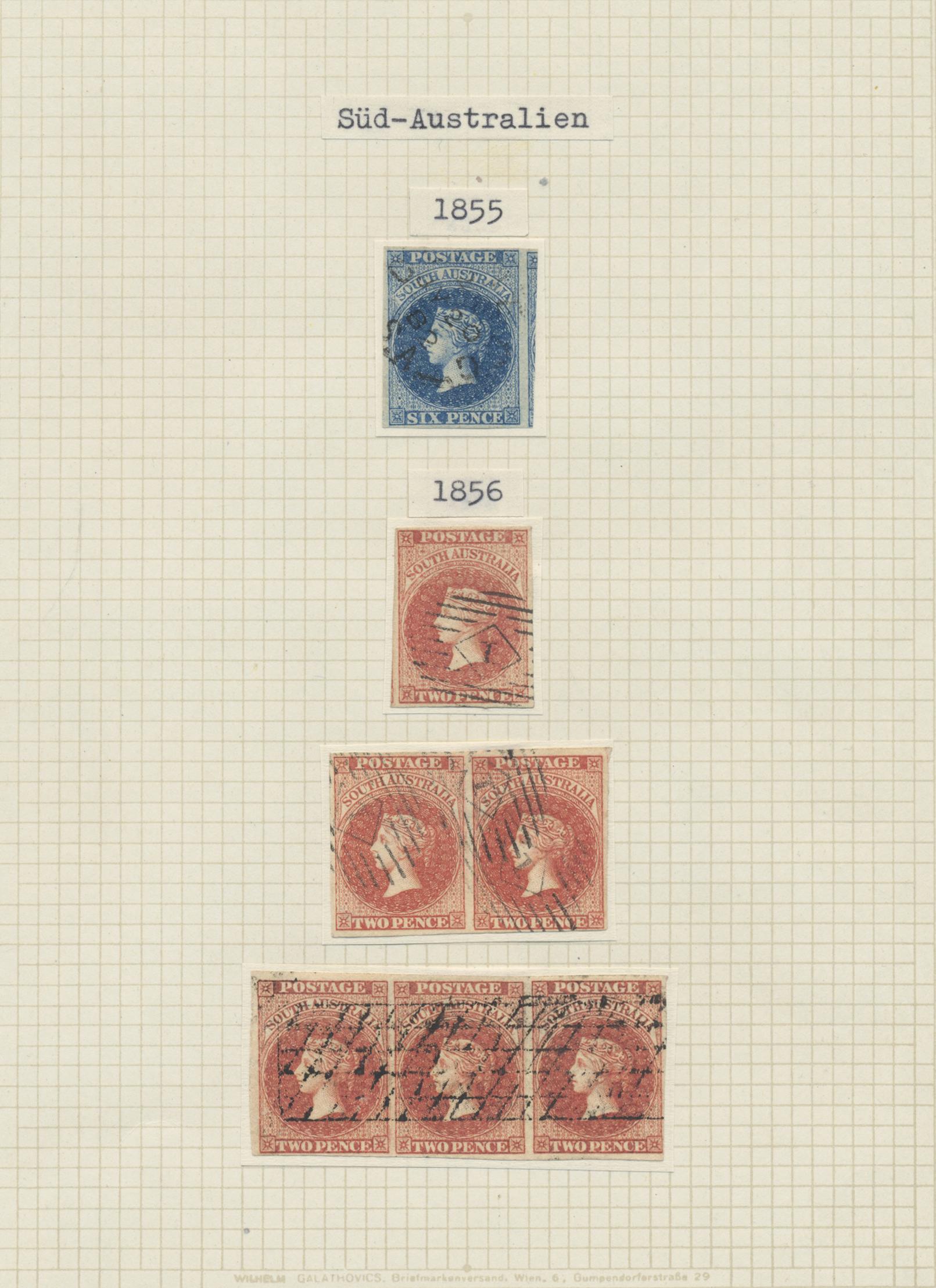 Lot 09075 - Australische Staaten | Australian States  -  Auktionshaus Christoph Gärtner GmbH & Co. KG 51th Auction - Day 4