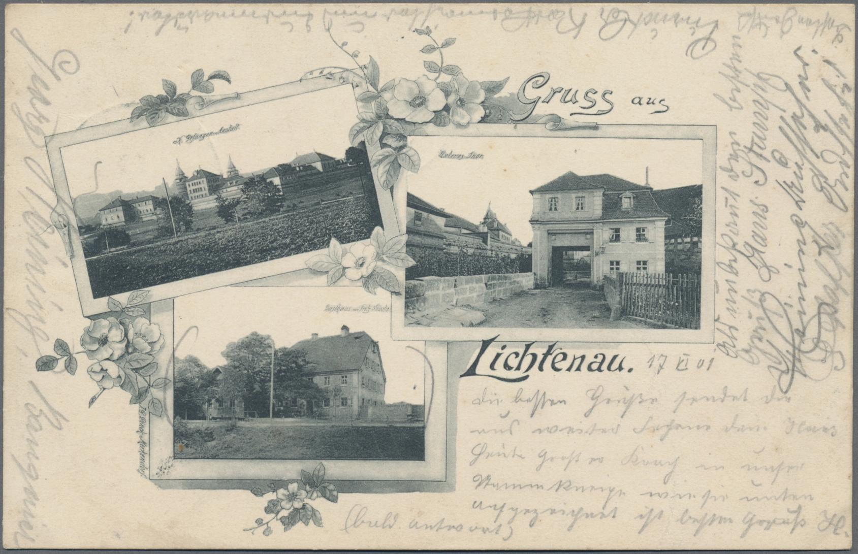 Lot 04374 - Ansichtskarten: Bayern  -  Auktionshaus Christoph Gärtner GmbH & Co. KG Sale #48 The Coins & The Picture Post Cards