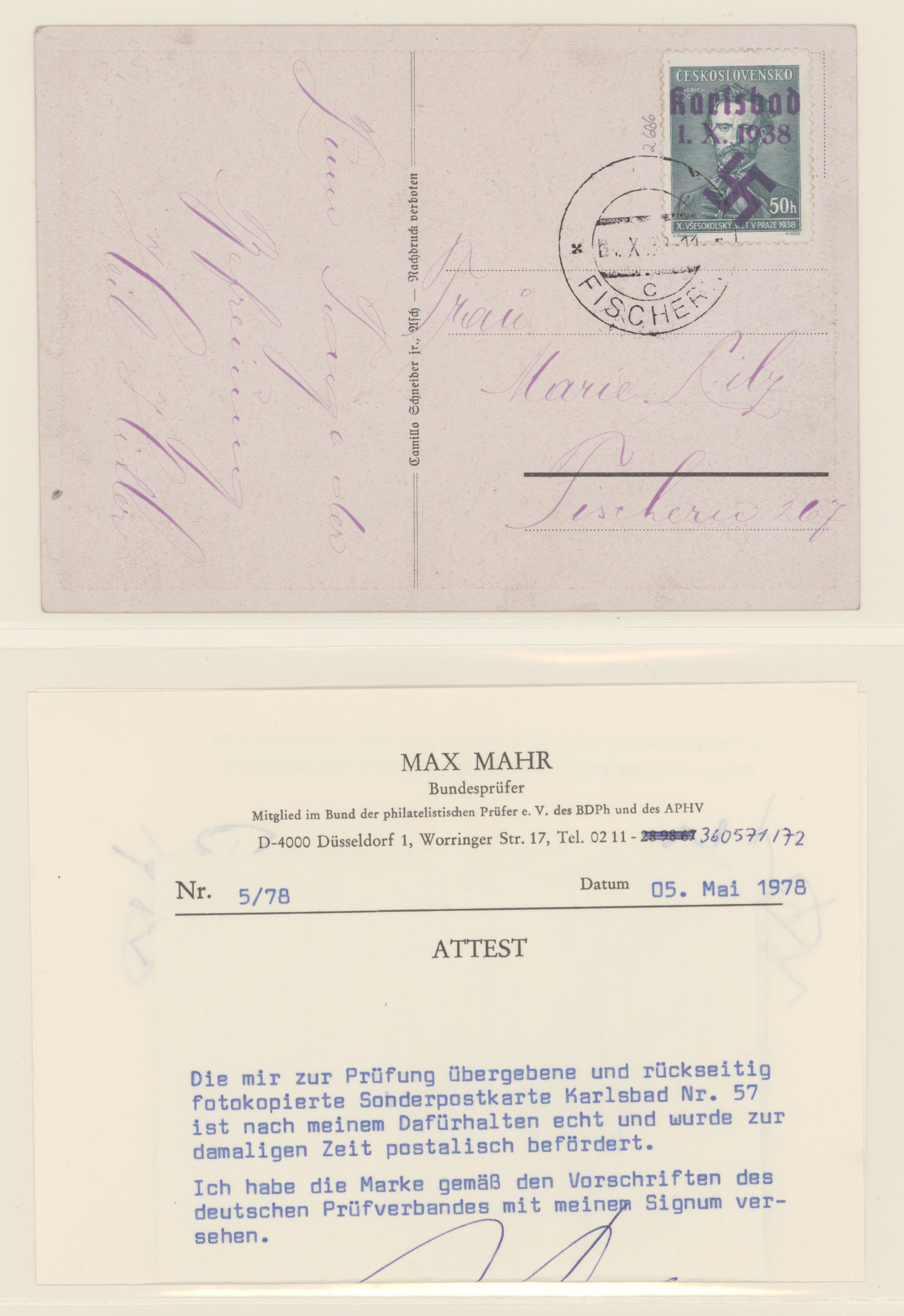 Lot 14824 - sudetenland  -  Auktionshaus Christoph Gärtner GmbH & Co. KG 51th Auction - Day 5