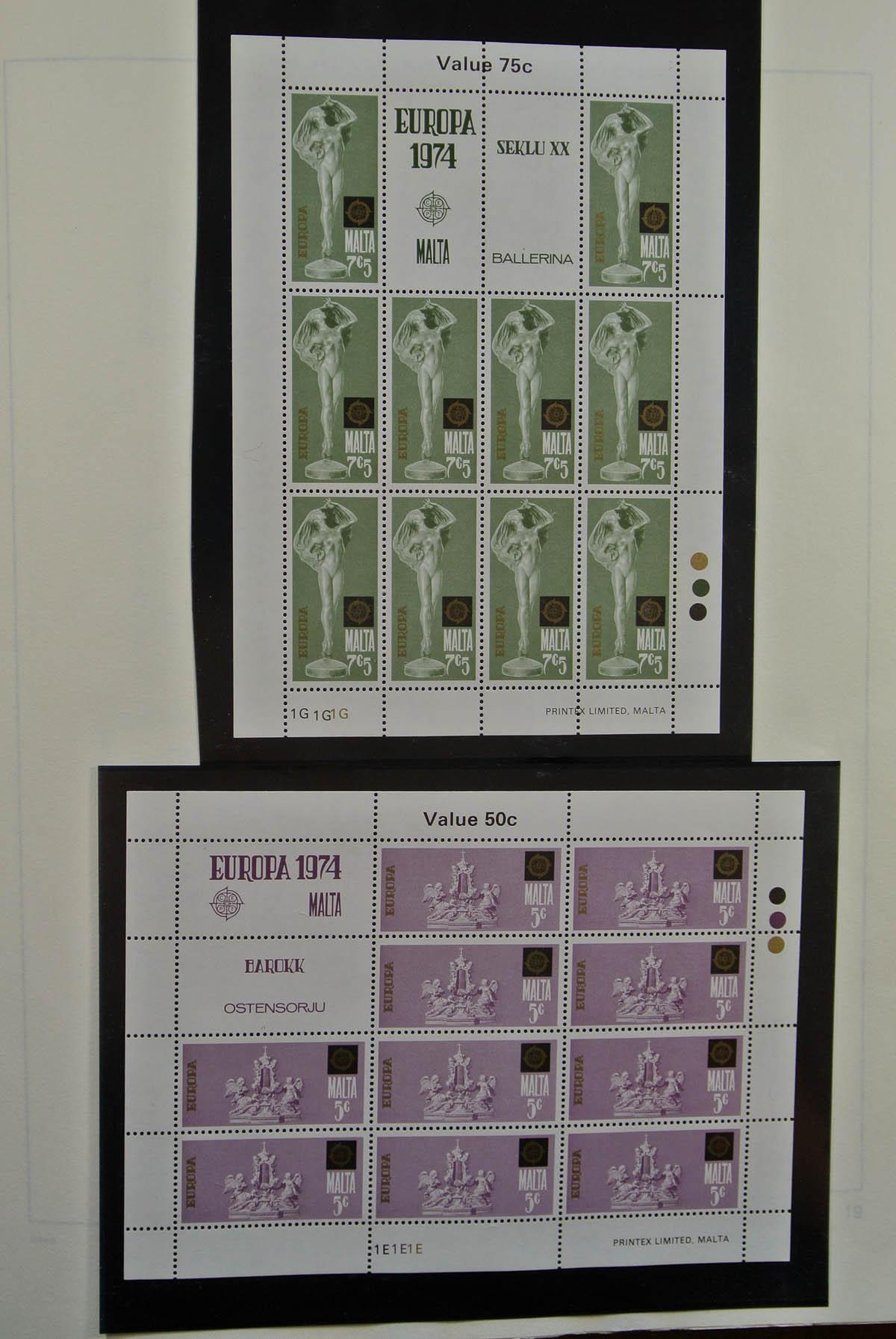 Stamp Auction - Malta - Auction #40 Europe, lot 27304