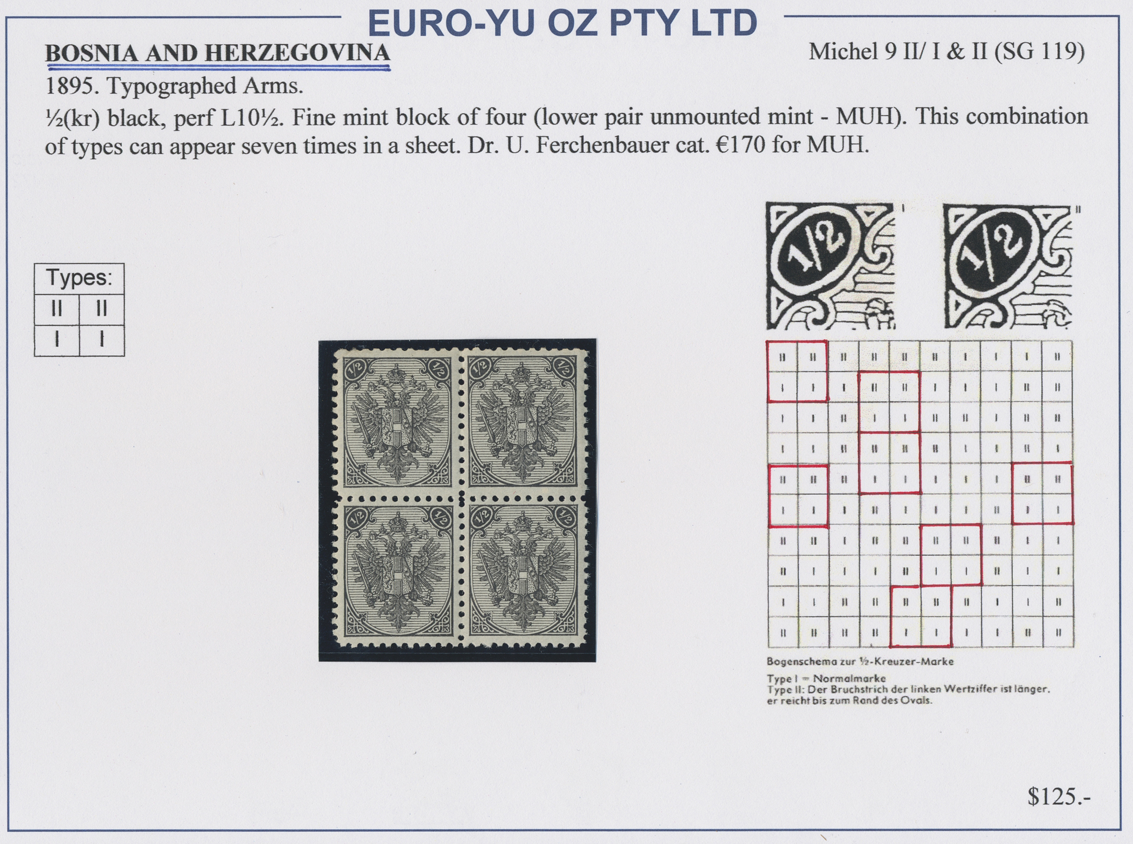 Lot 23724 - bosnien und herzegowina  -  Auktionshaus Christoph Gärtner GmbH & Co. KG Sale #46 Collections Worldwide