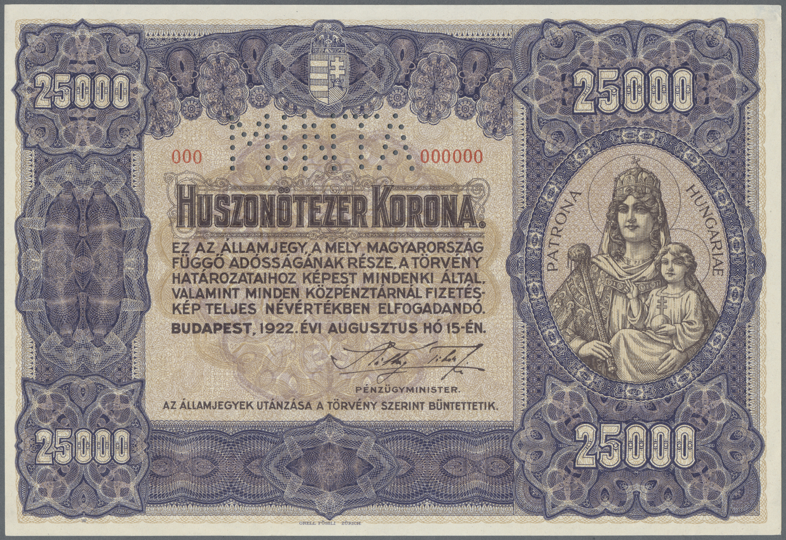 Lot 00377 - Hungary / Ungarn | Banknoten  -  Auktionshaus Christoph Gärtner GmbH & Co. KG Sale #48 The Banknotes