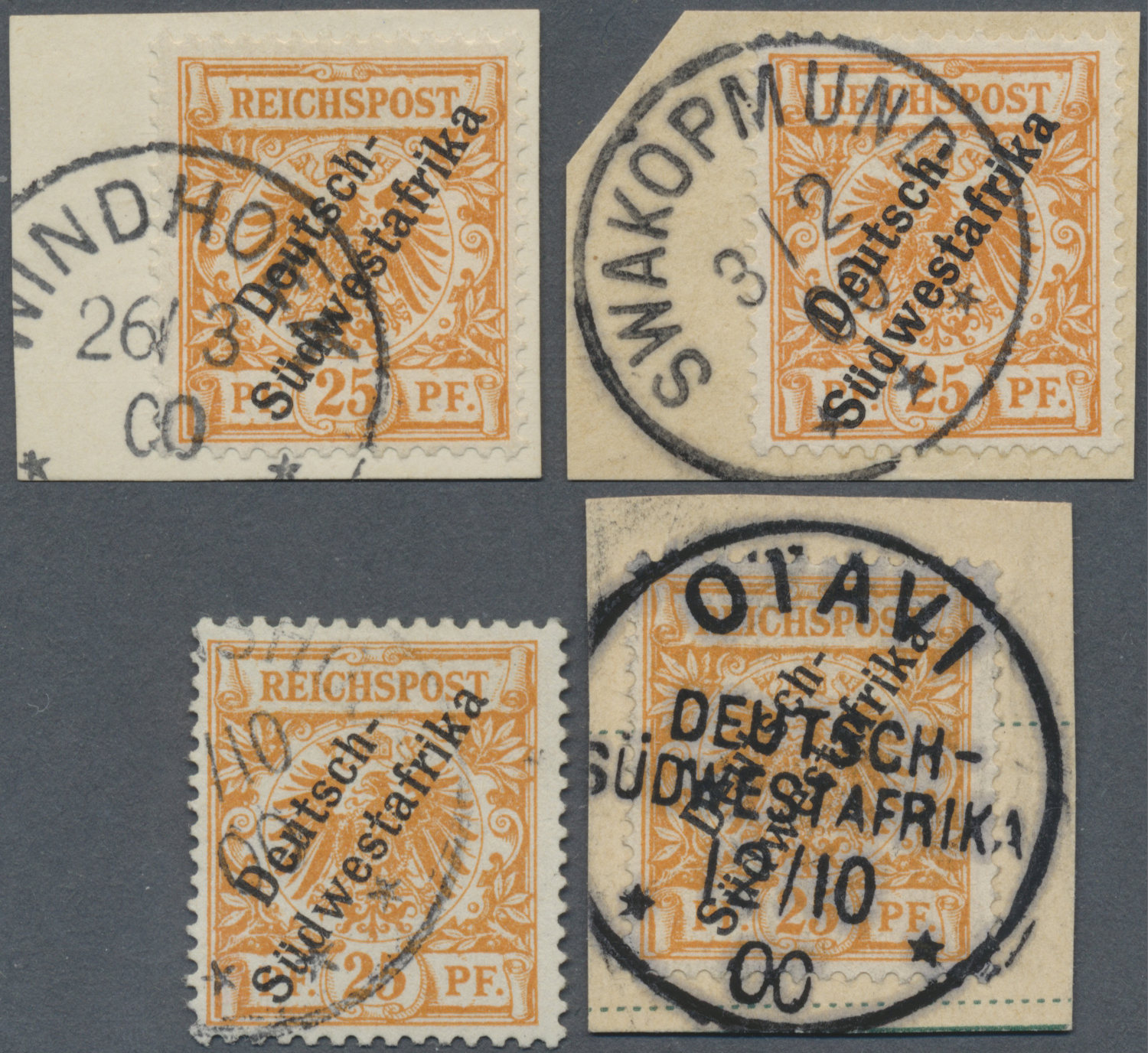 Lot 22323 - deutsch-südwestafrika  -  Auktionshaus Christoph Gärtner GmbH & Co. KG Single lots Germany + Picture Postcards. Auction #39 Day 5