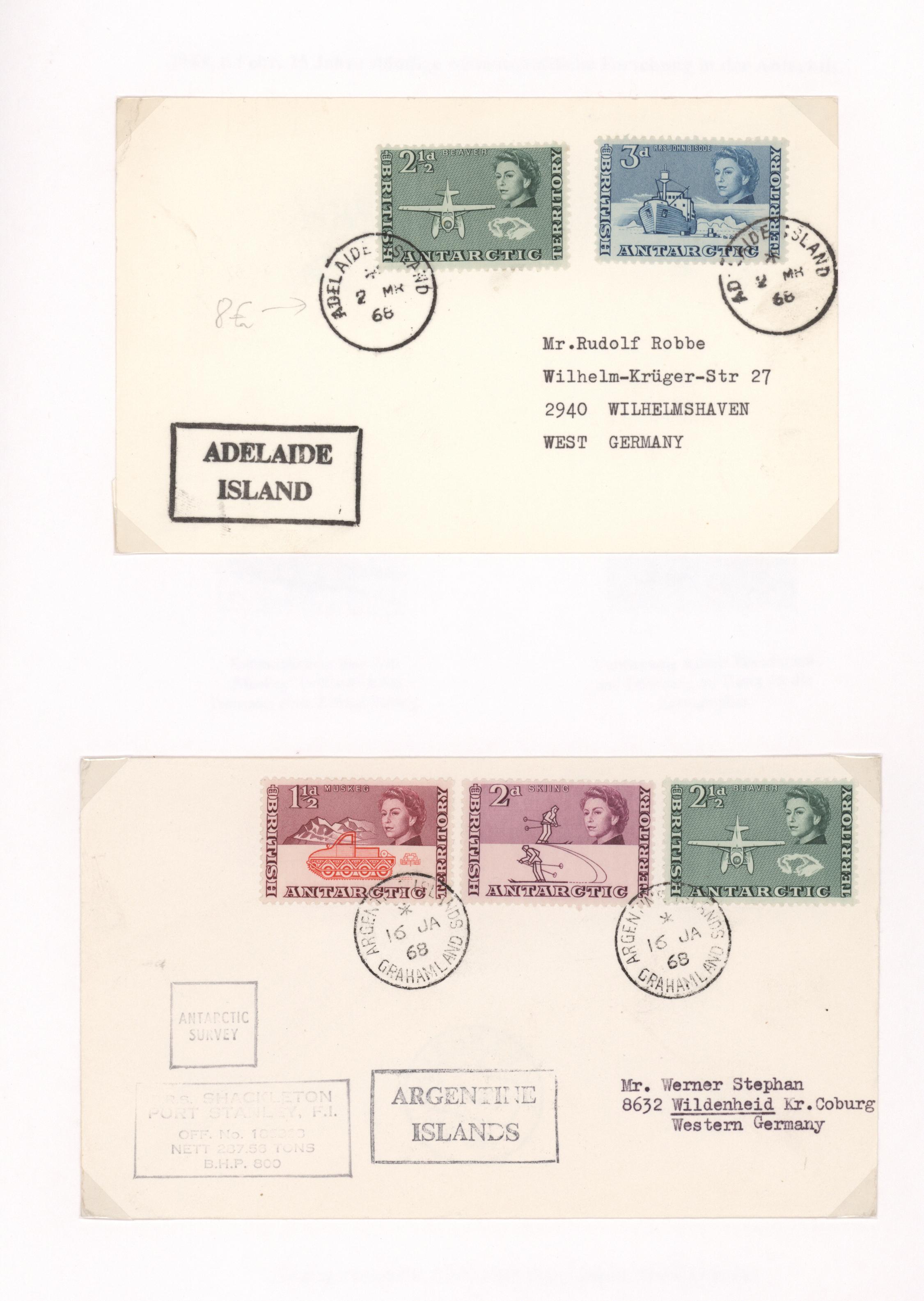 Lot 16231 - britische gebiete in der antarktis  -  Auktionshaus Christoph Gärtner GmbH & Co. KG 50th Auction Anniversary Auction - Day 5