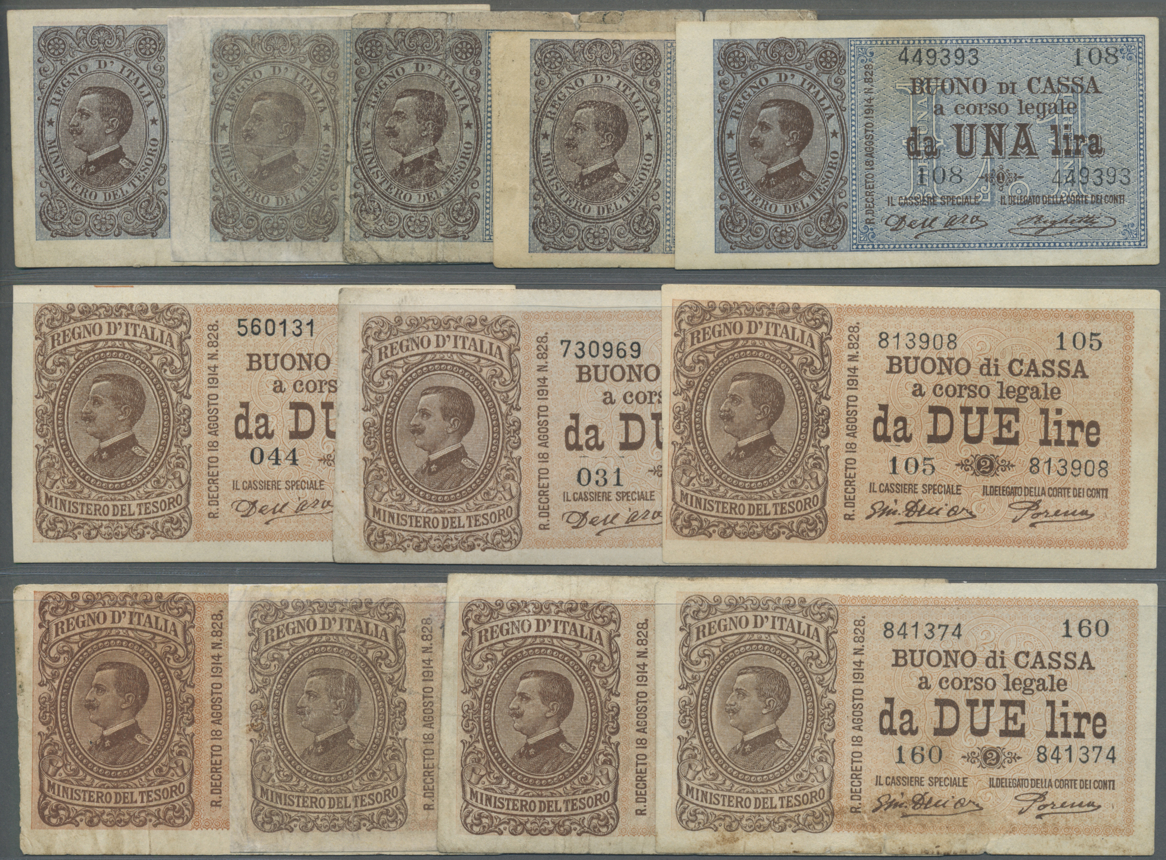 Lot 00453 - Italy / Italien | Banknoten  -  Auktionshaus Christoph Gärtner GmbH & Co. KG Sale #48 The Banknotes