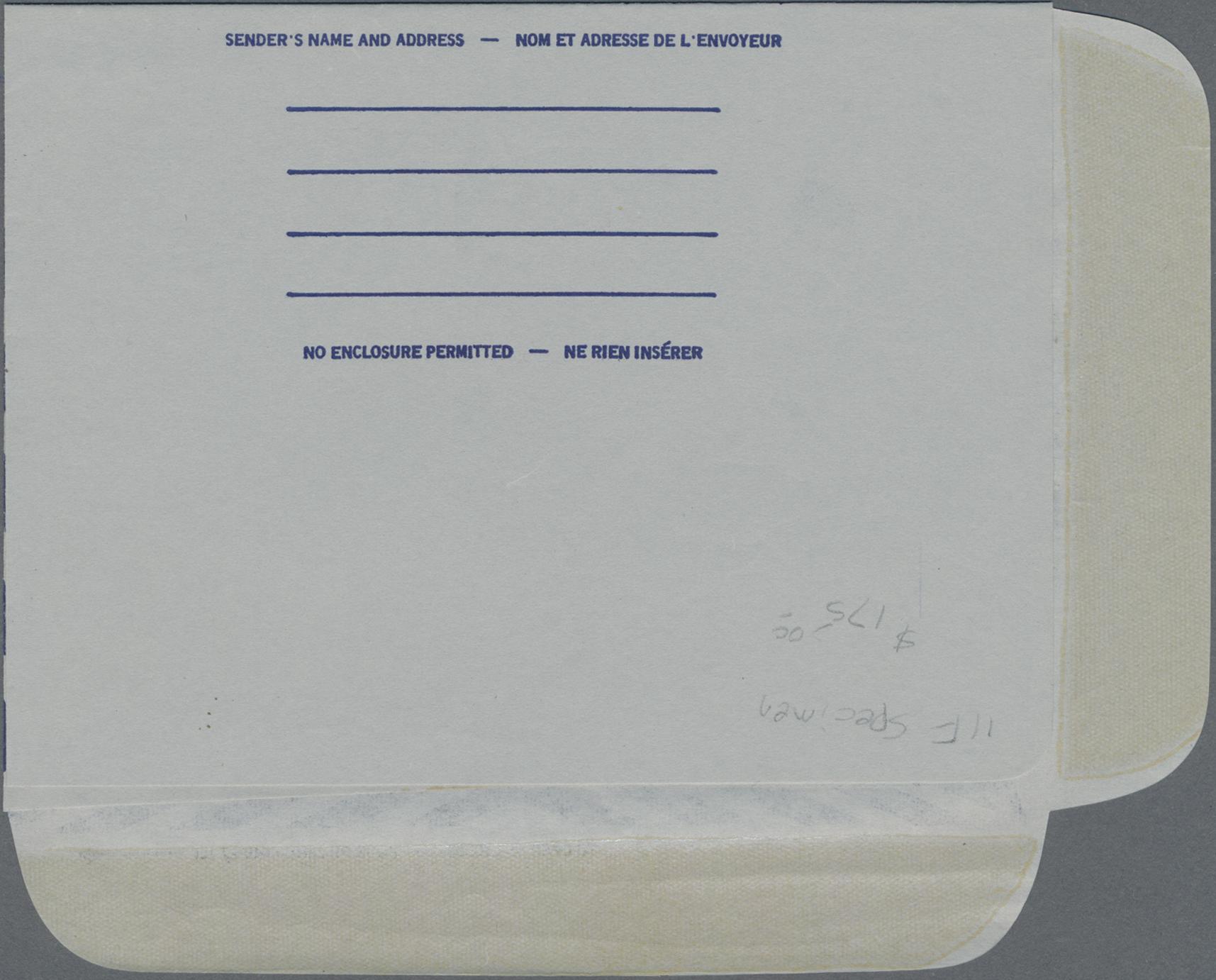Lot 00813 - Canada - Ganzsachen  -  Auktionshaus Christoph Gärtner GmbH & Co. KG Special auction